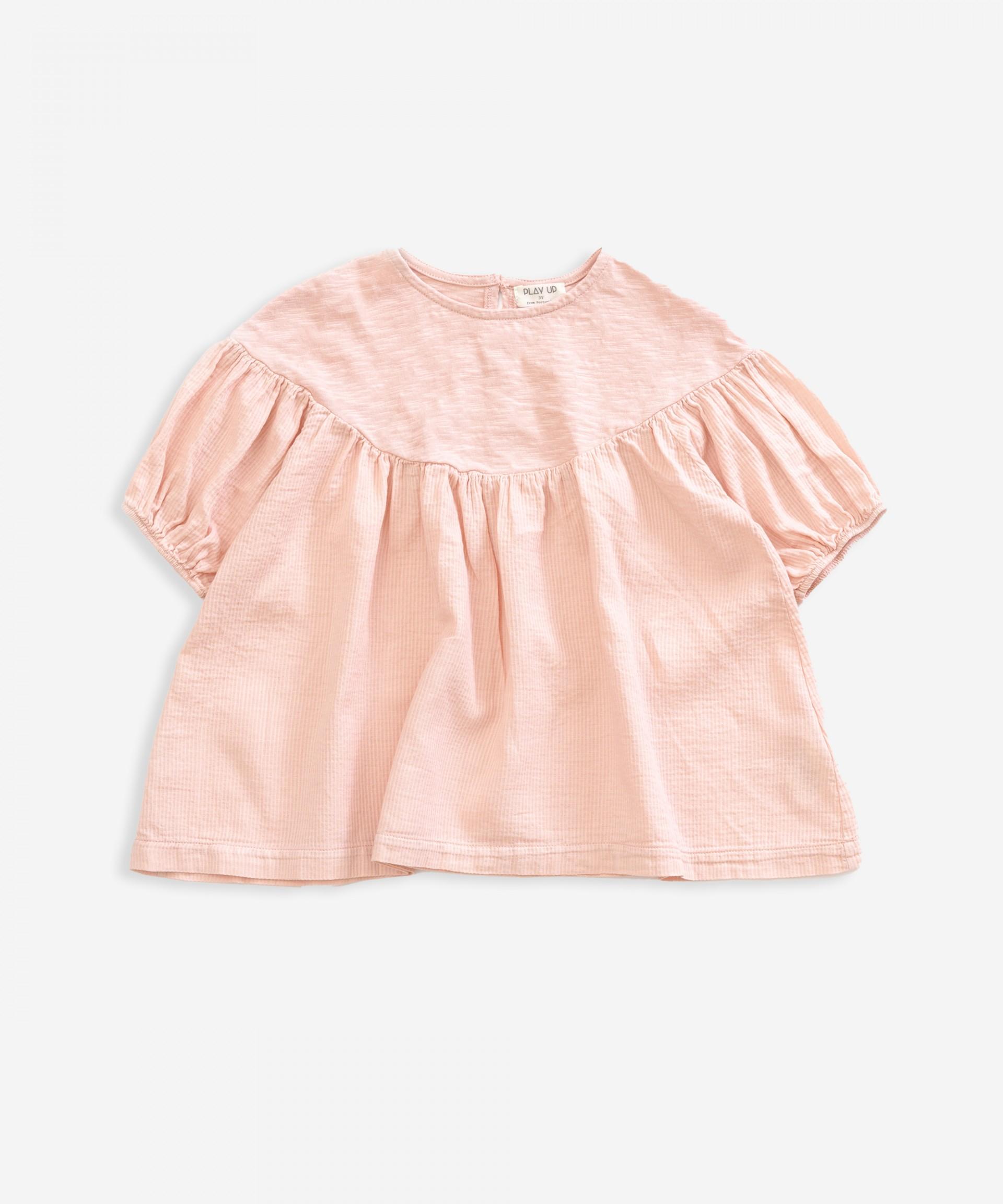 Short-sleeved tunic | Weaving | Weaving
