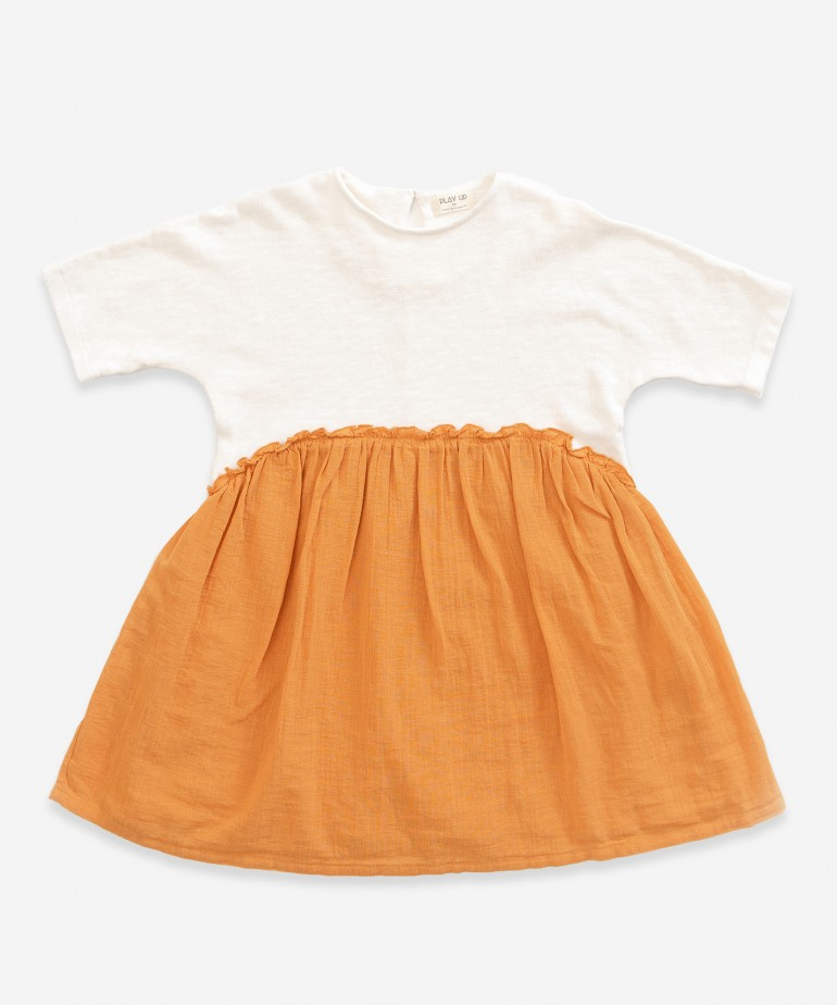 Dress made of cotton