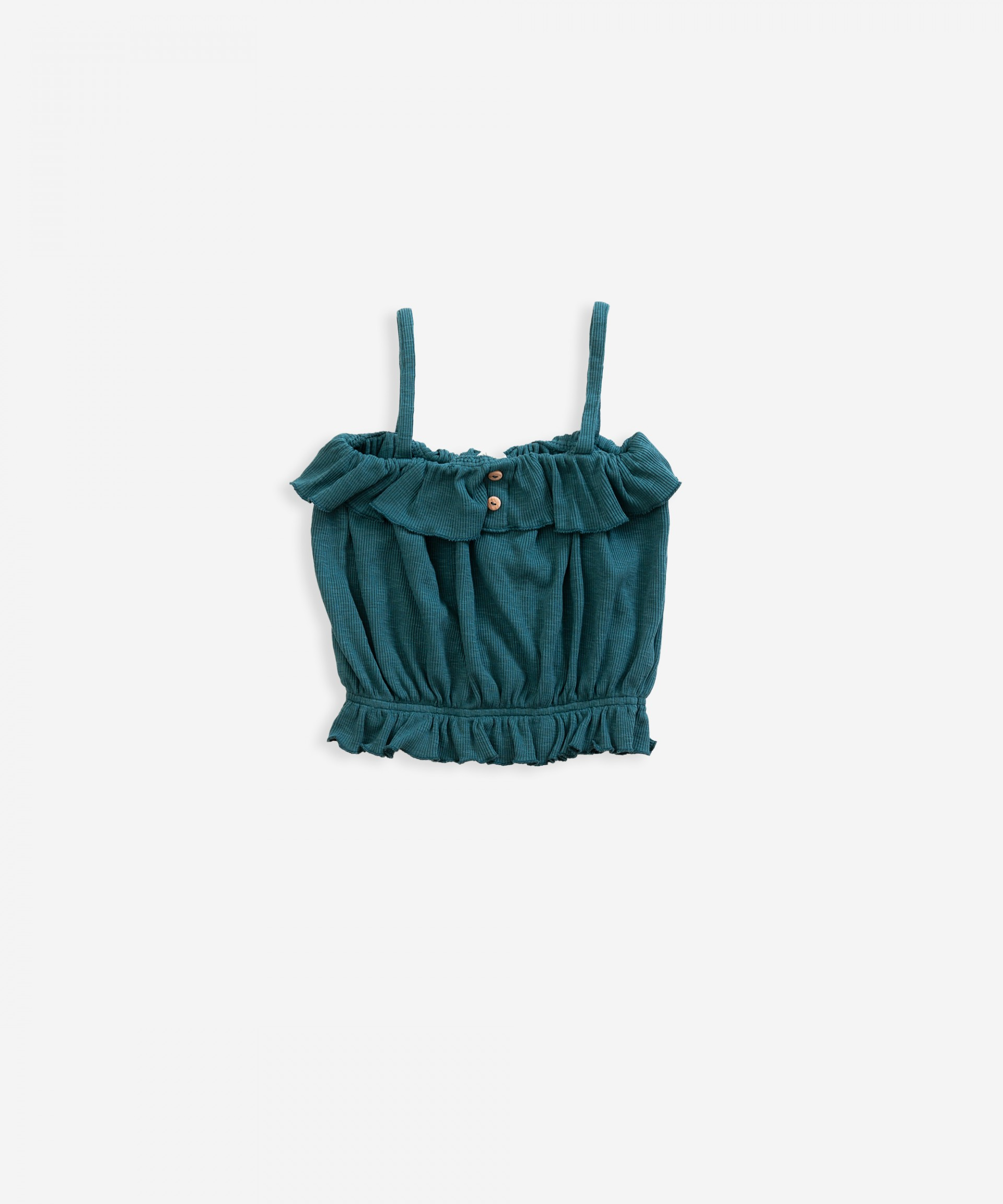 Top with frills | Weaving