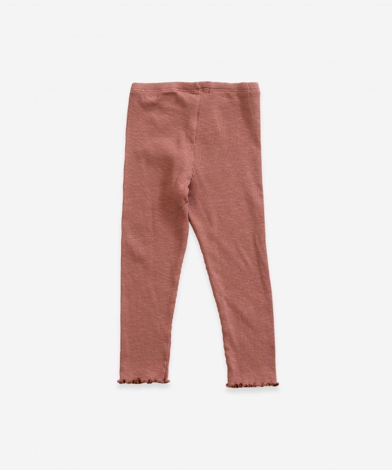 Leggings in organic cotton
