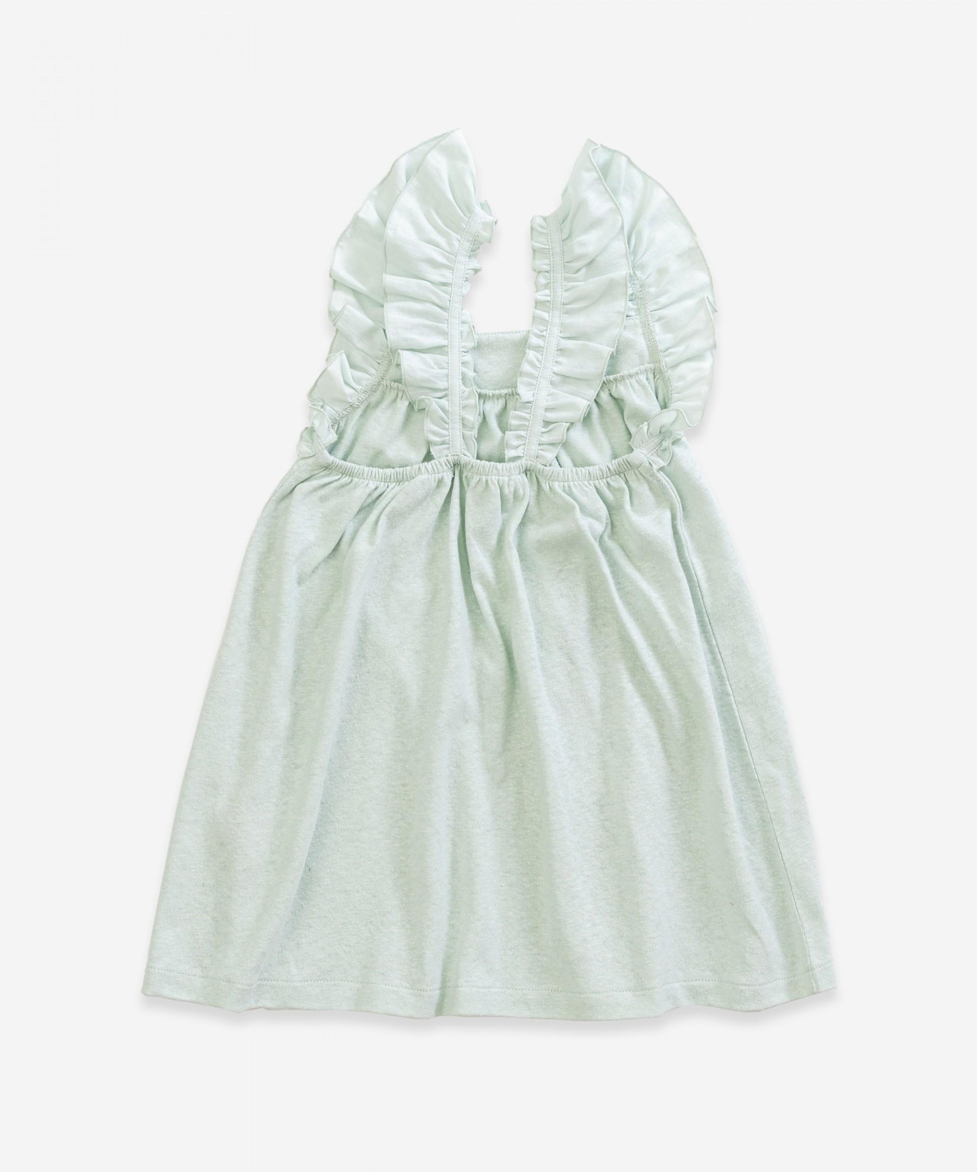 Cotton dress | Weaving