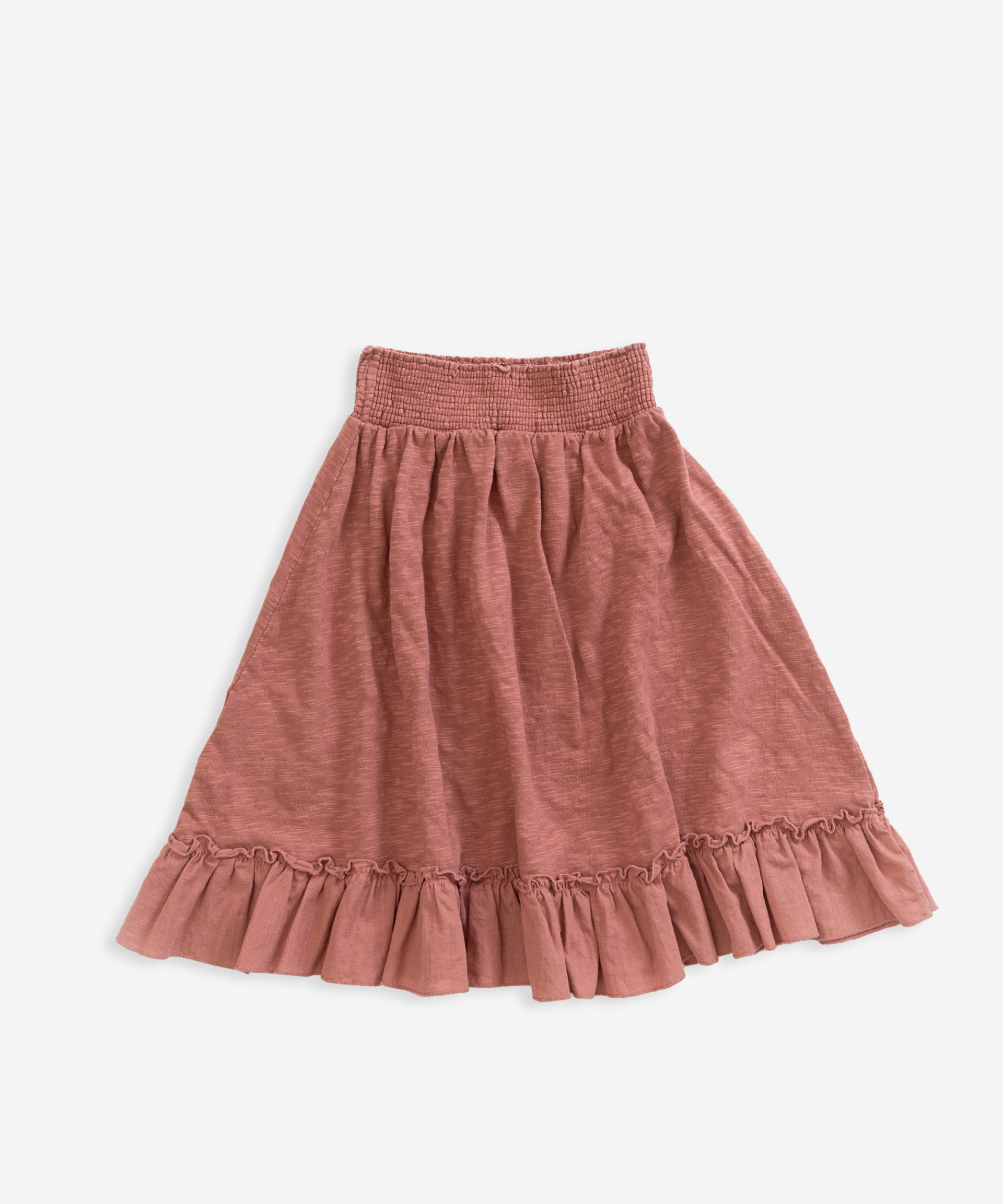 Falda de algodón orgánico | Weaving