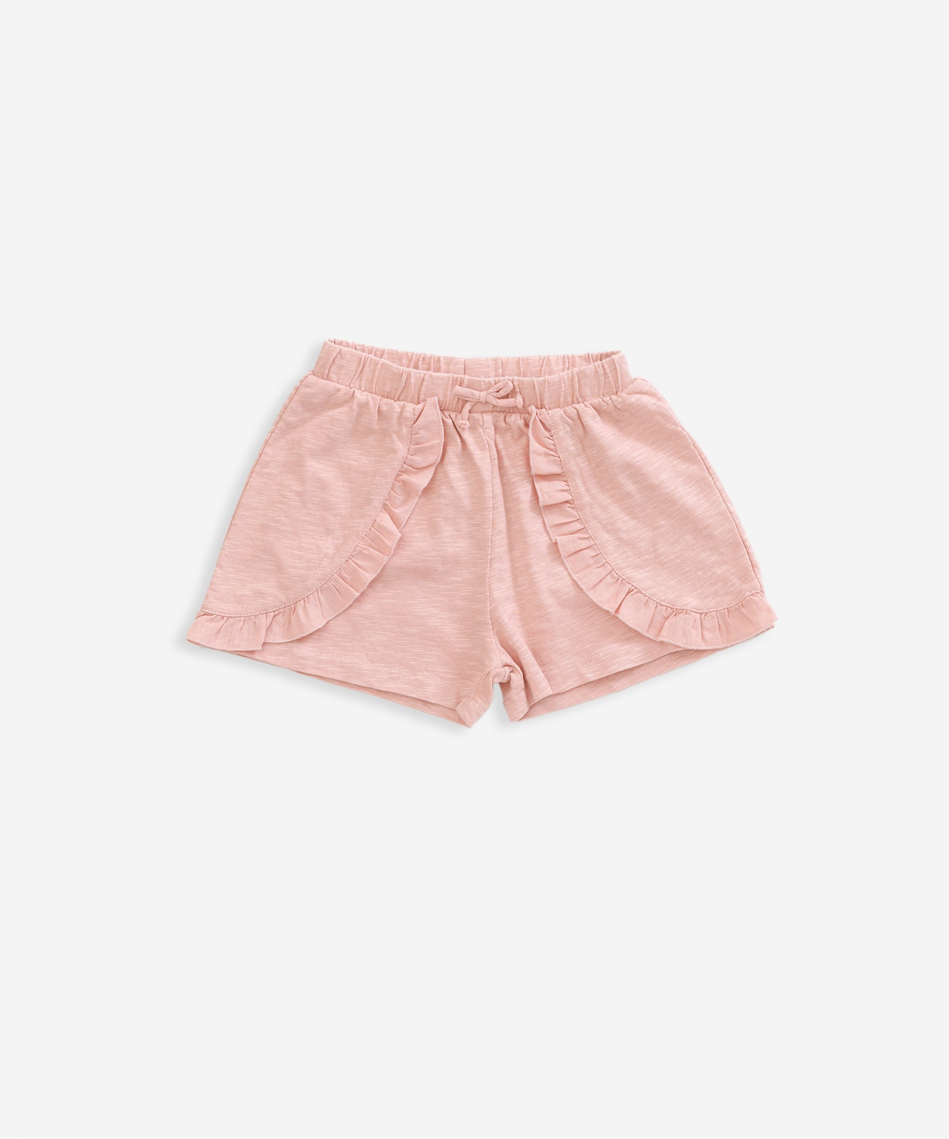 Shorts in organic cotton | Weaving