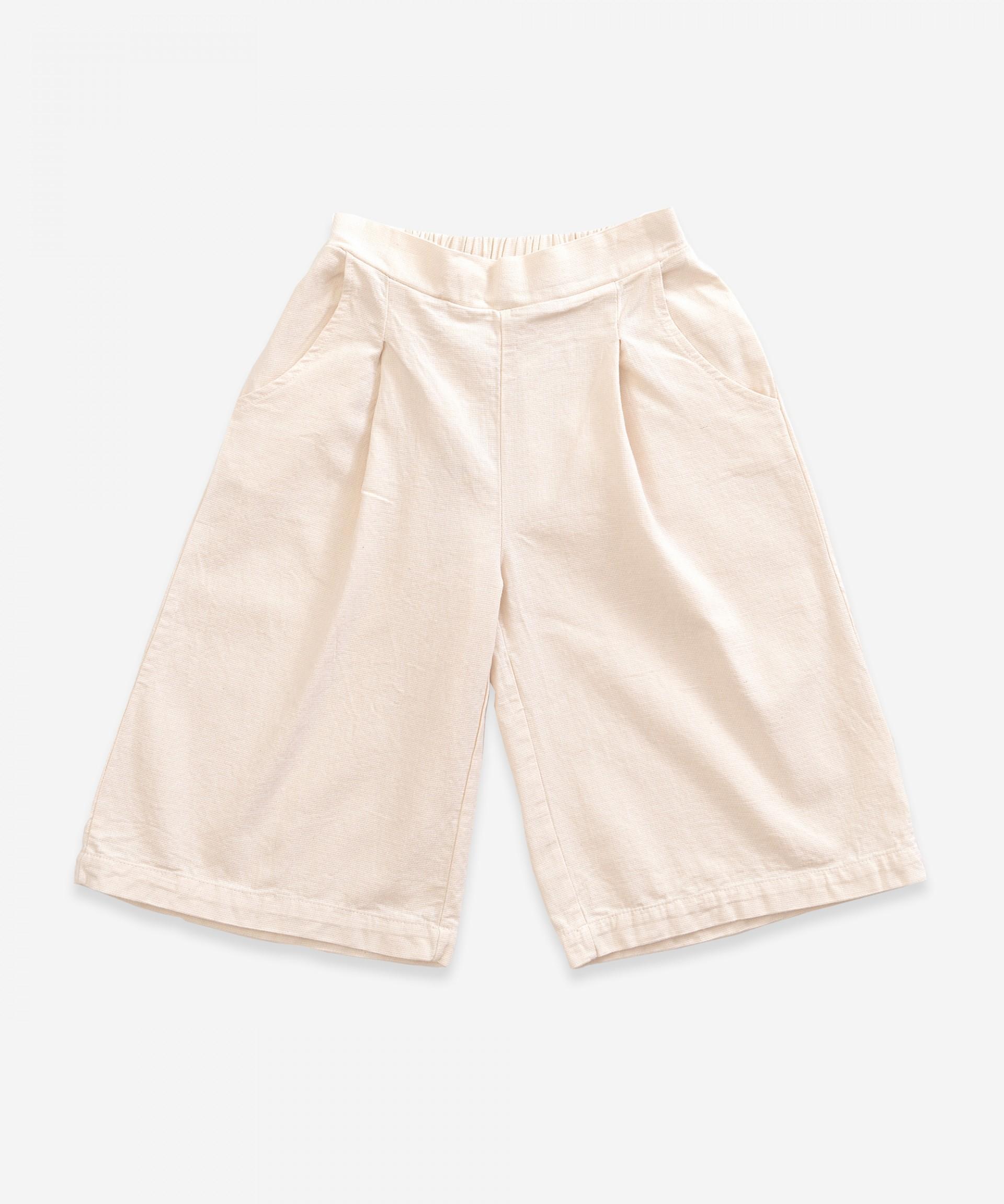 Pantaloni in twill con elastico in vita | Weaving