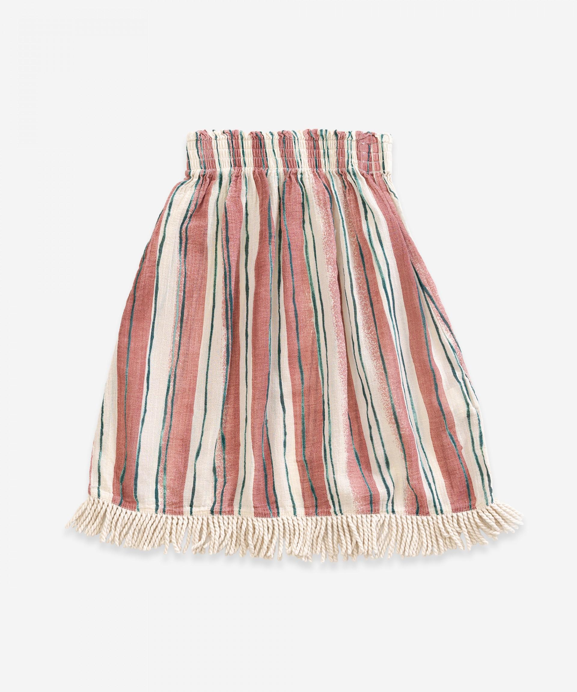 Saia em tecido de algodão | Weaving