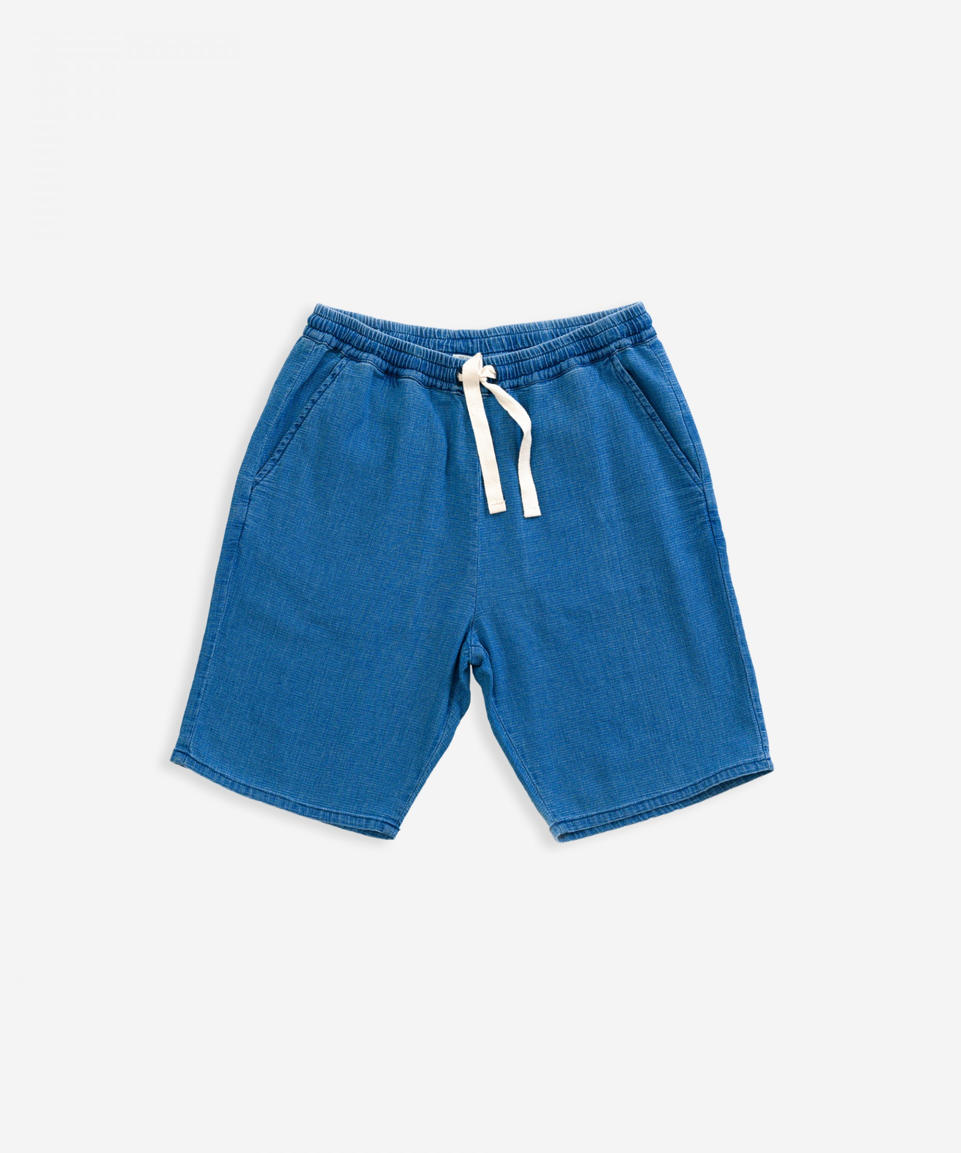 Denim shorts with pockets | Weaving