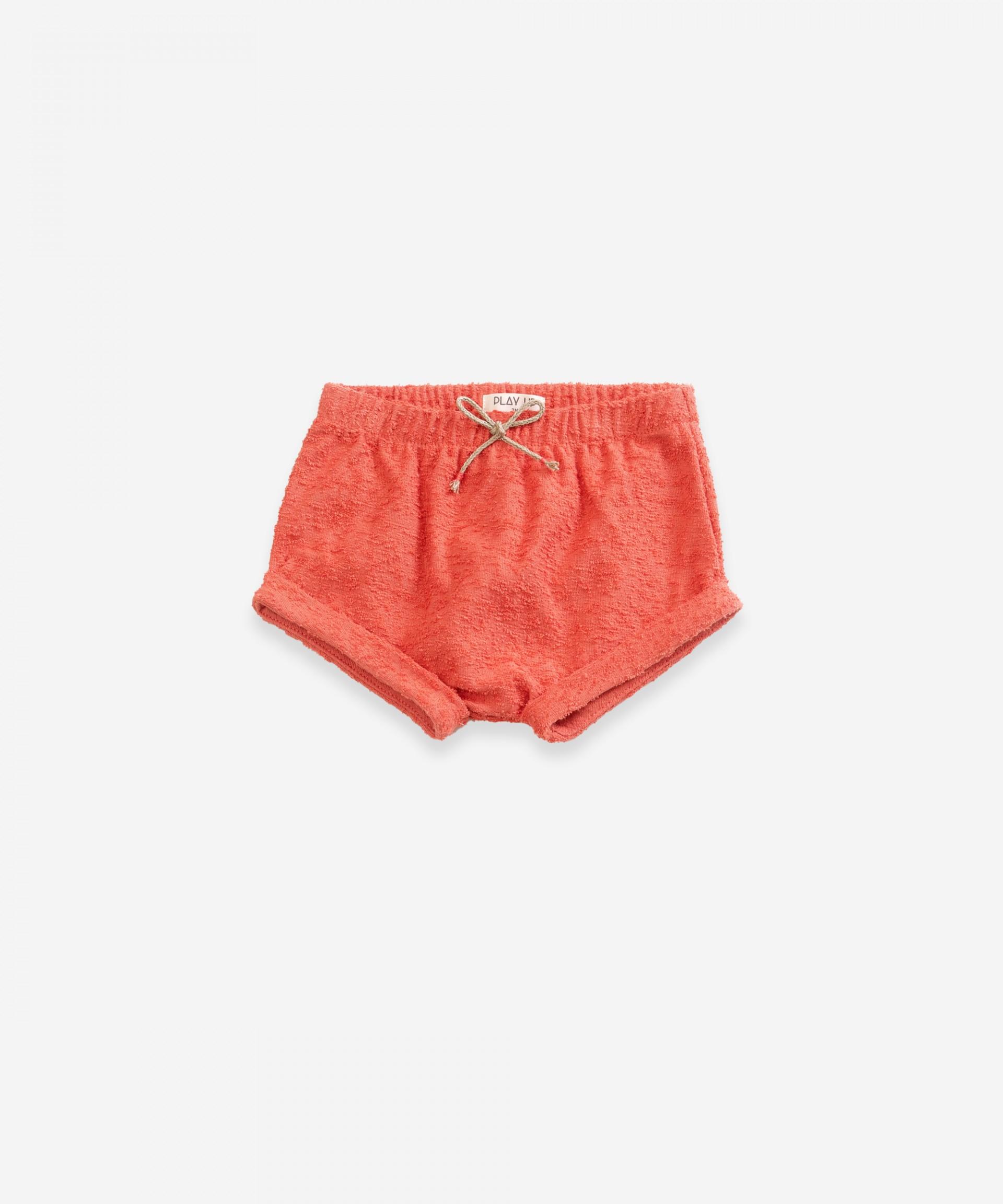 Pantaloncini con trama | Weaving