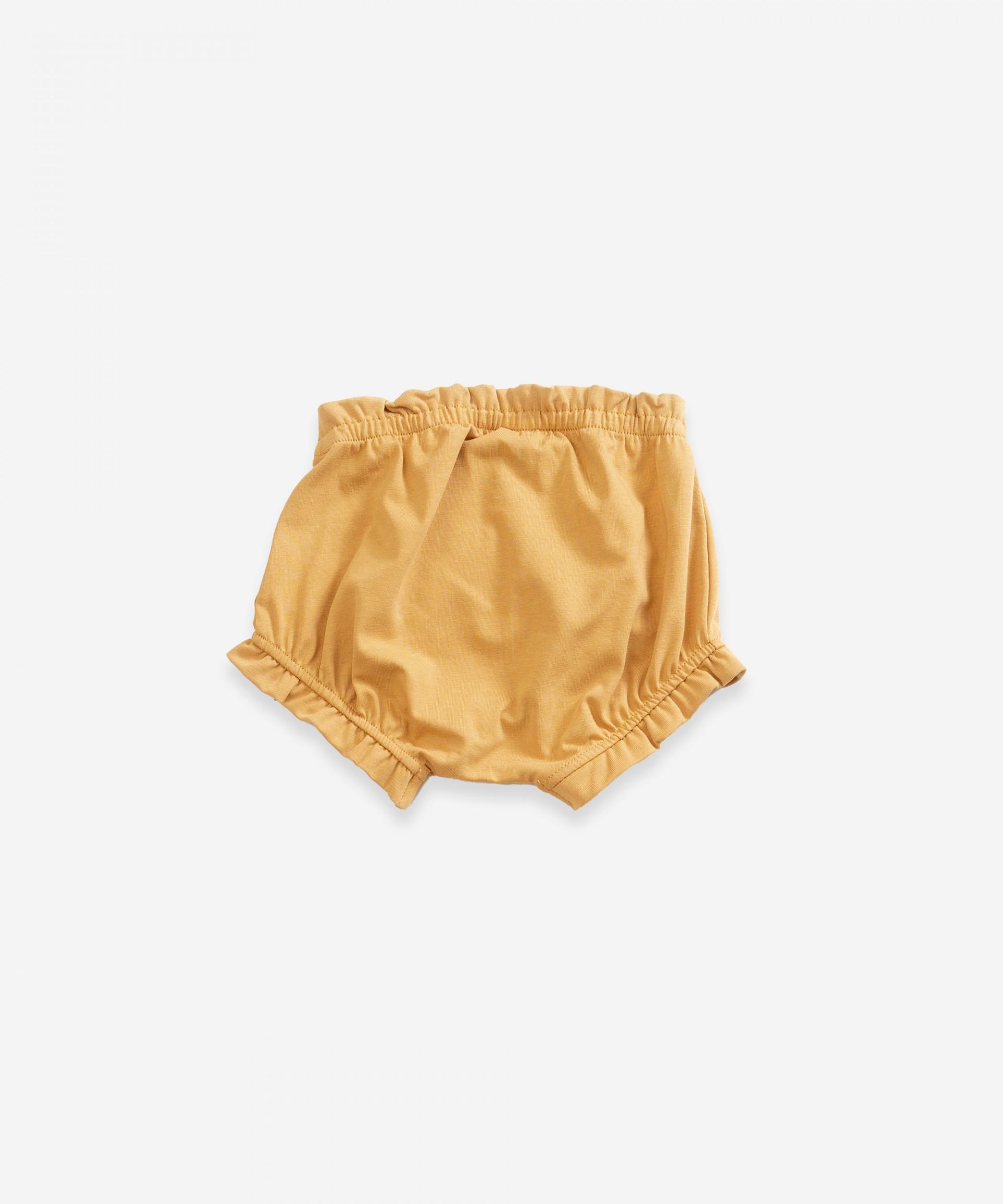 Braguita con cintura elástica | Weaving