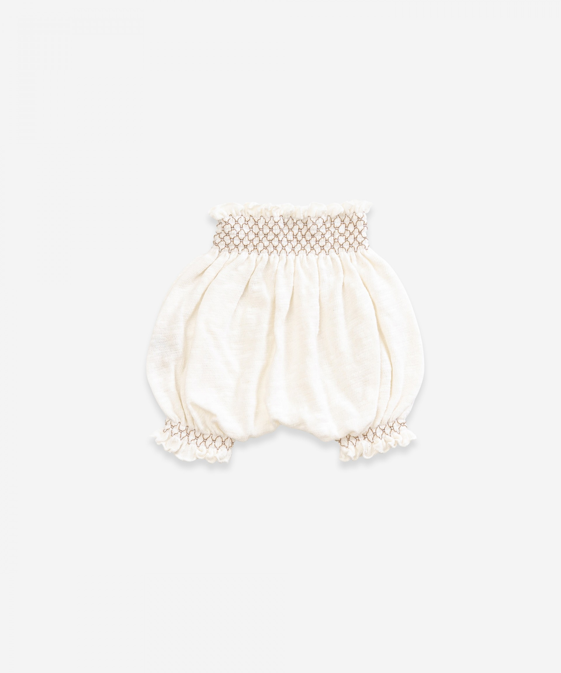 Cotton shorts |Weaving