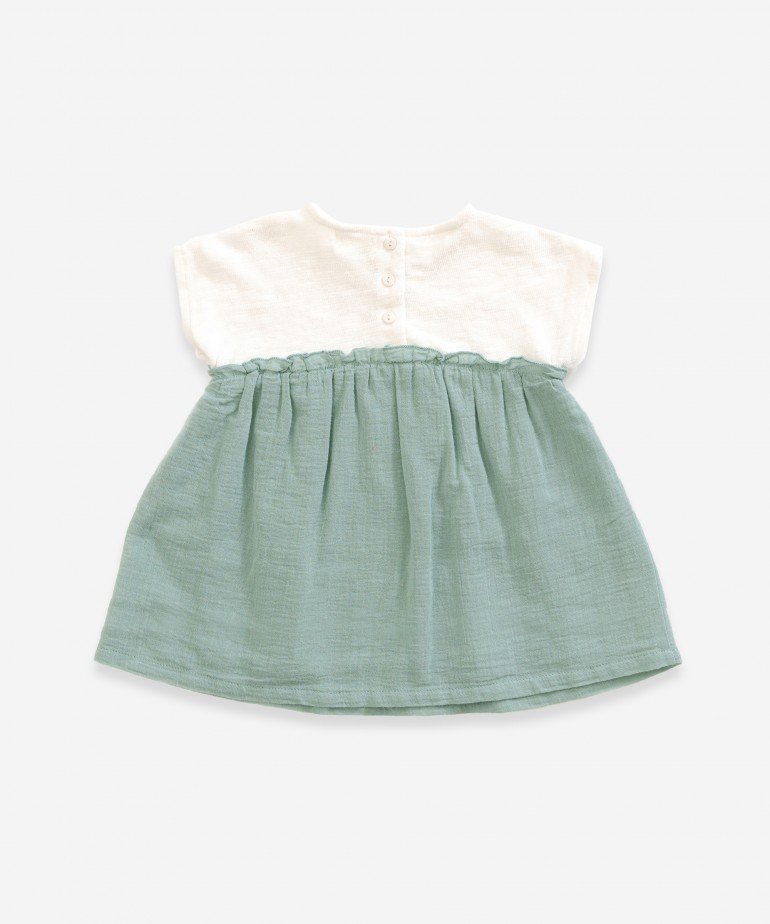 Dress made of organic cotton