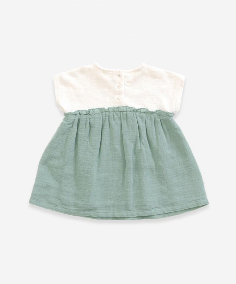 Vestido de algodón orgánico