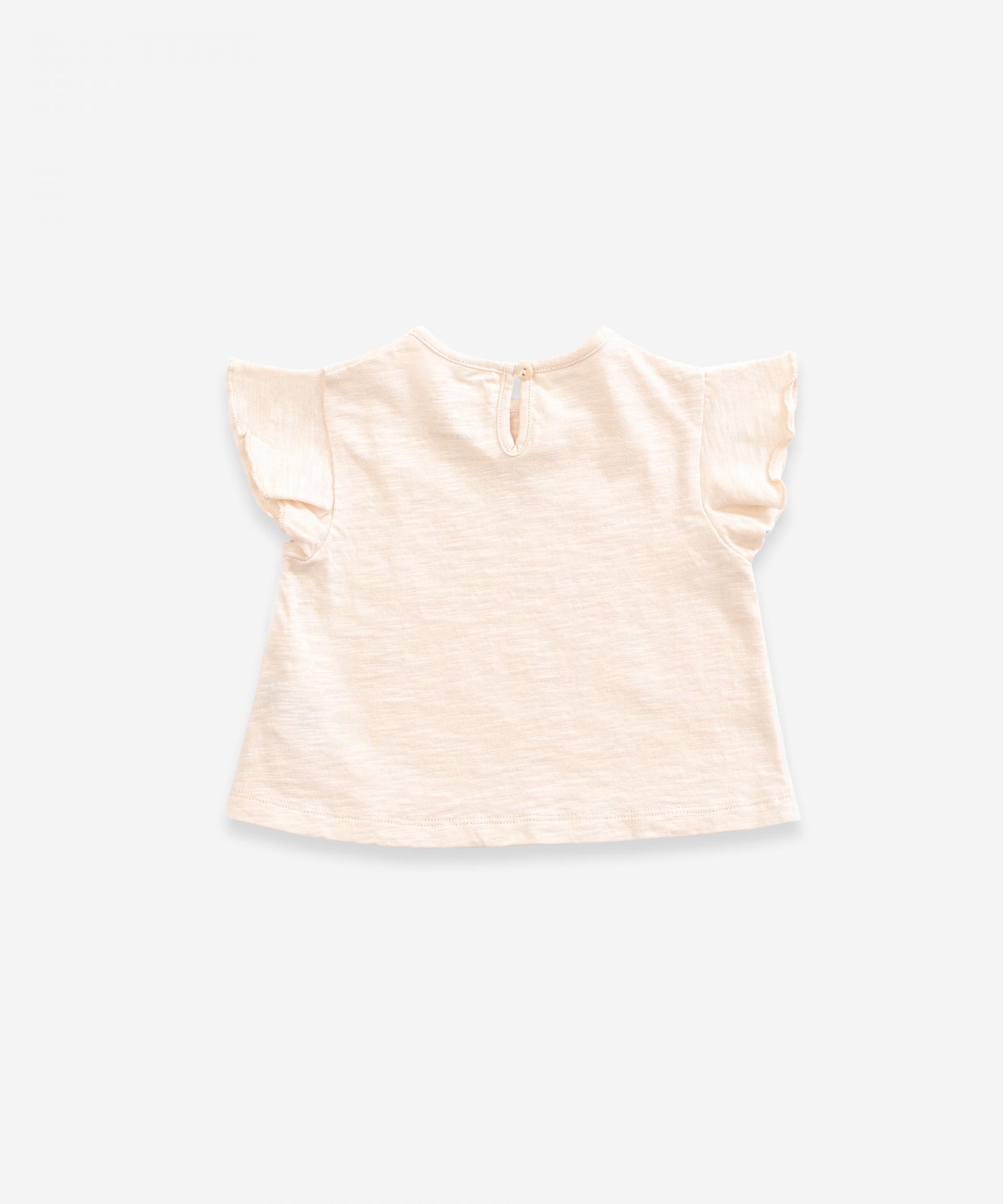 T-shirt em algodão orgânico | Weaving