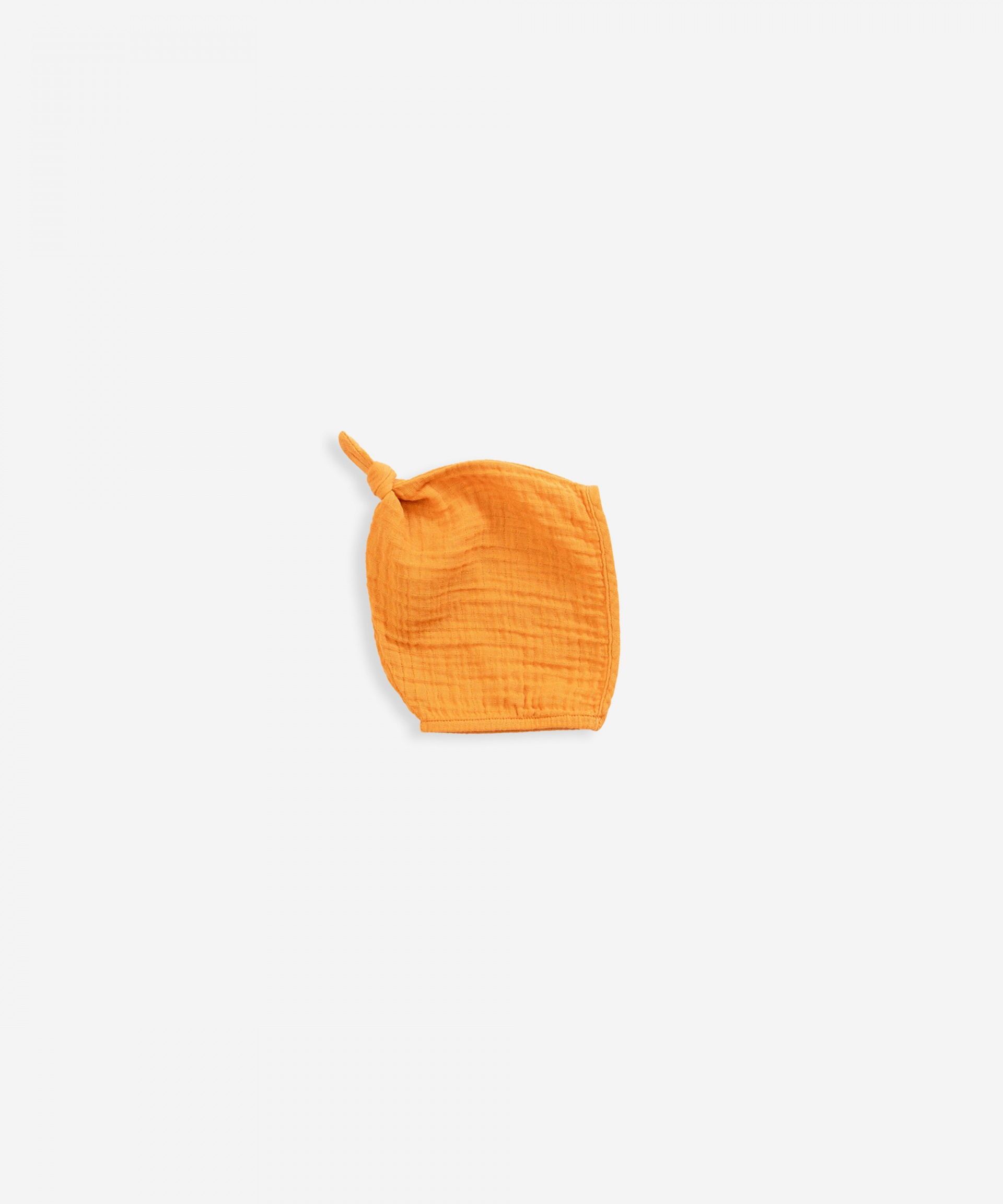Knitted hat in organic cotton |Weaving
