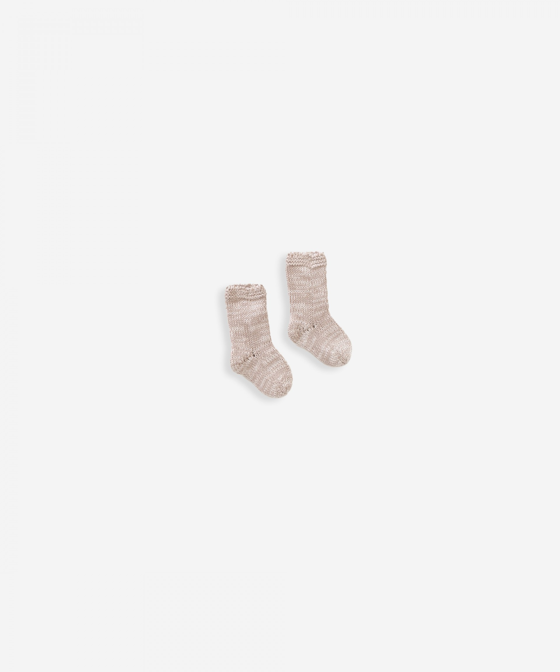 Knitted socks in organic cotton | Weaving