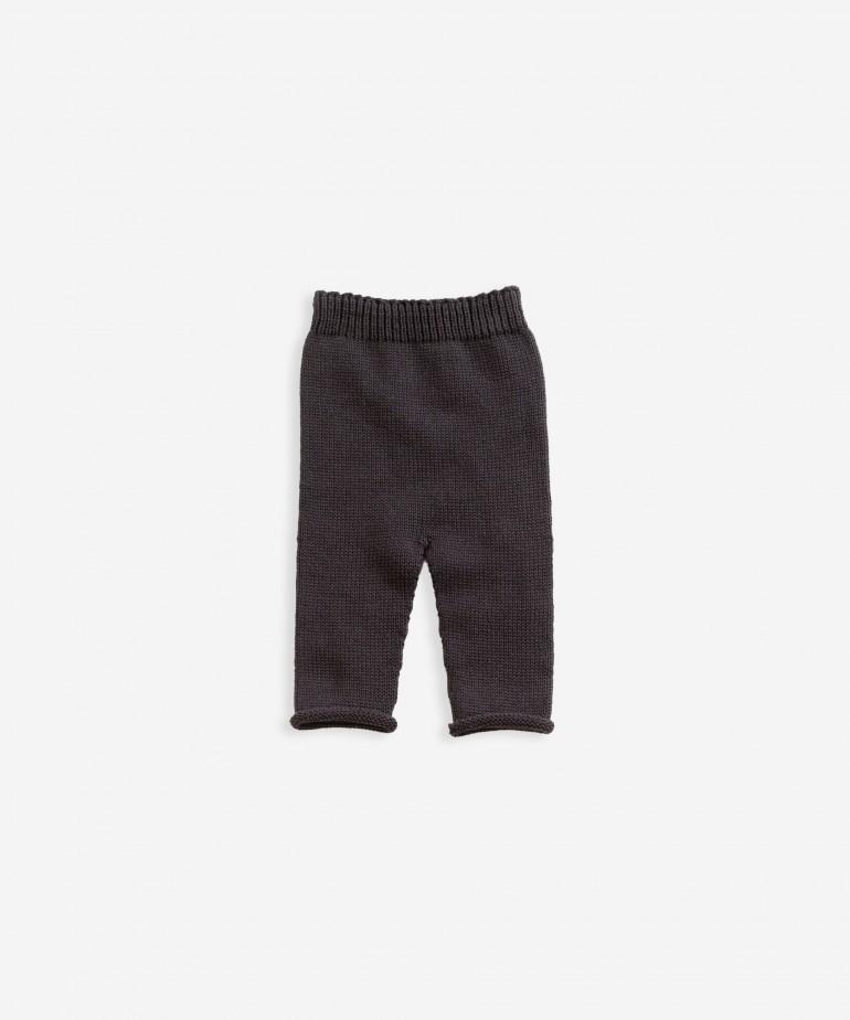 Calça tricot