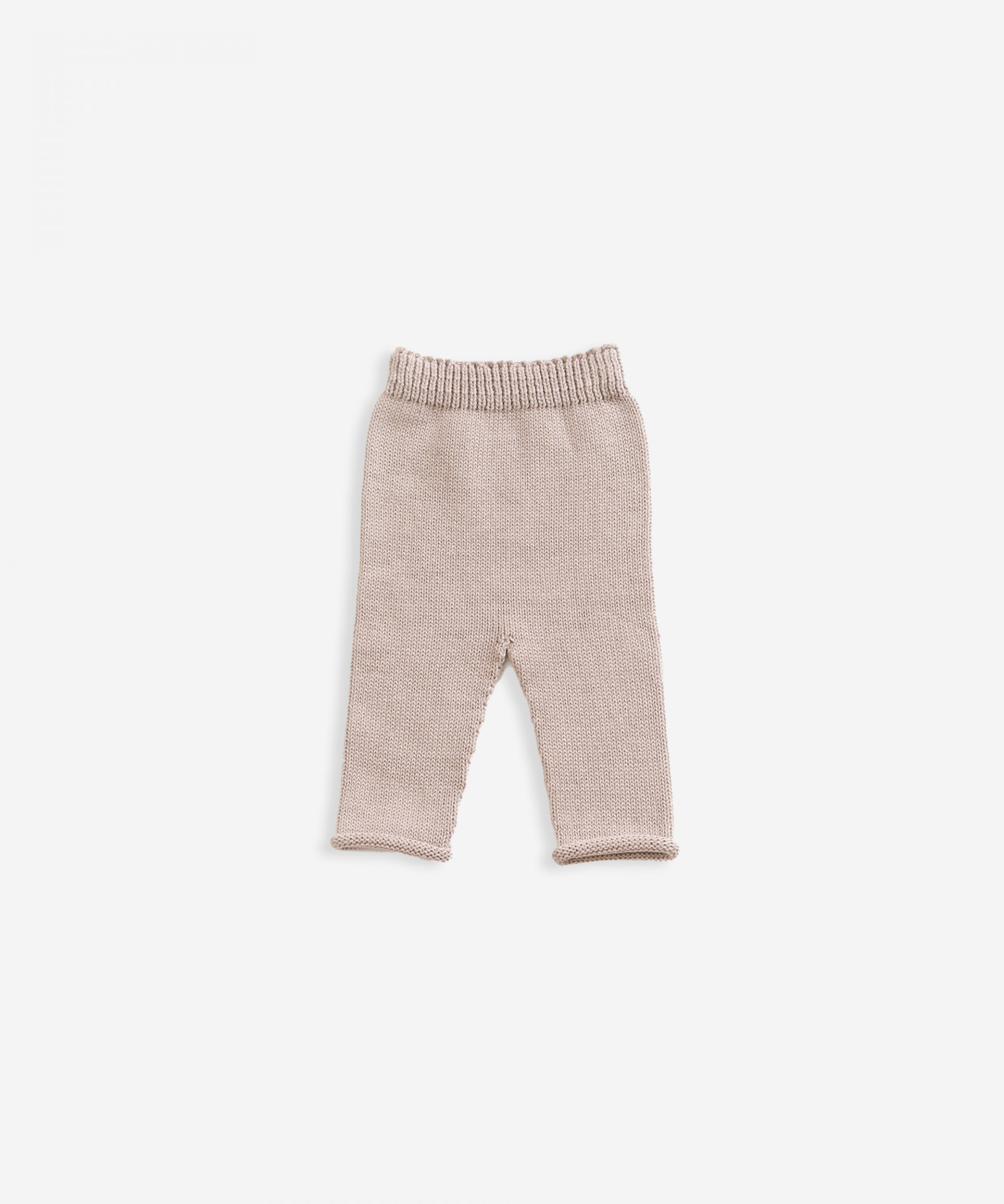 Trousers in organic cotton | Weaving