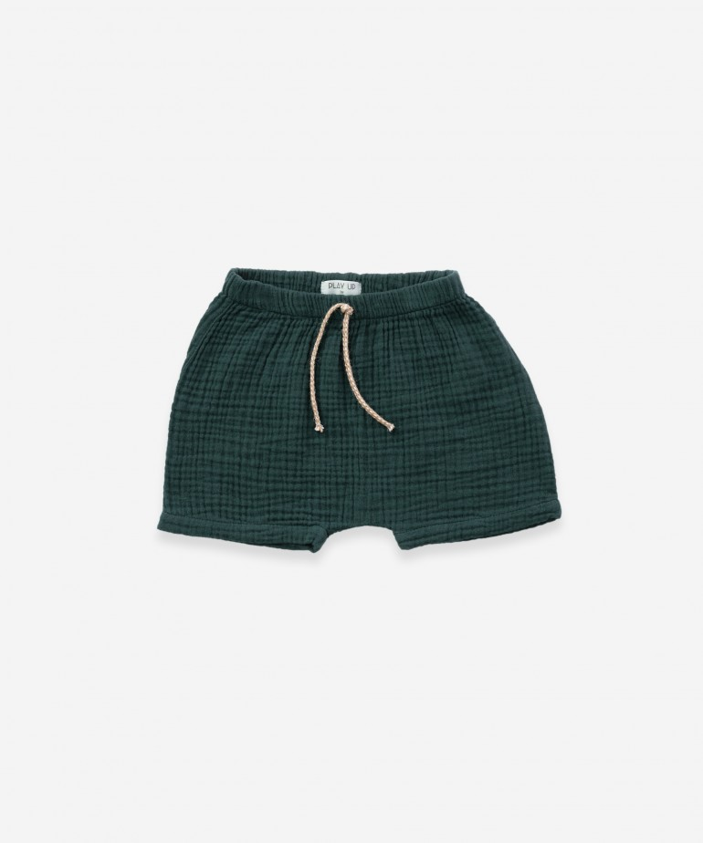 Pantaloncini in tessuto