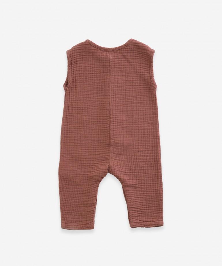 Fabric jumpsuit