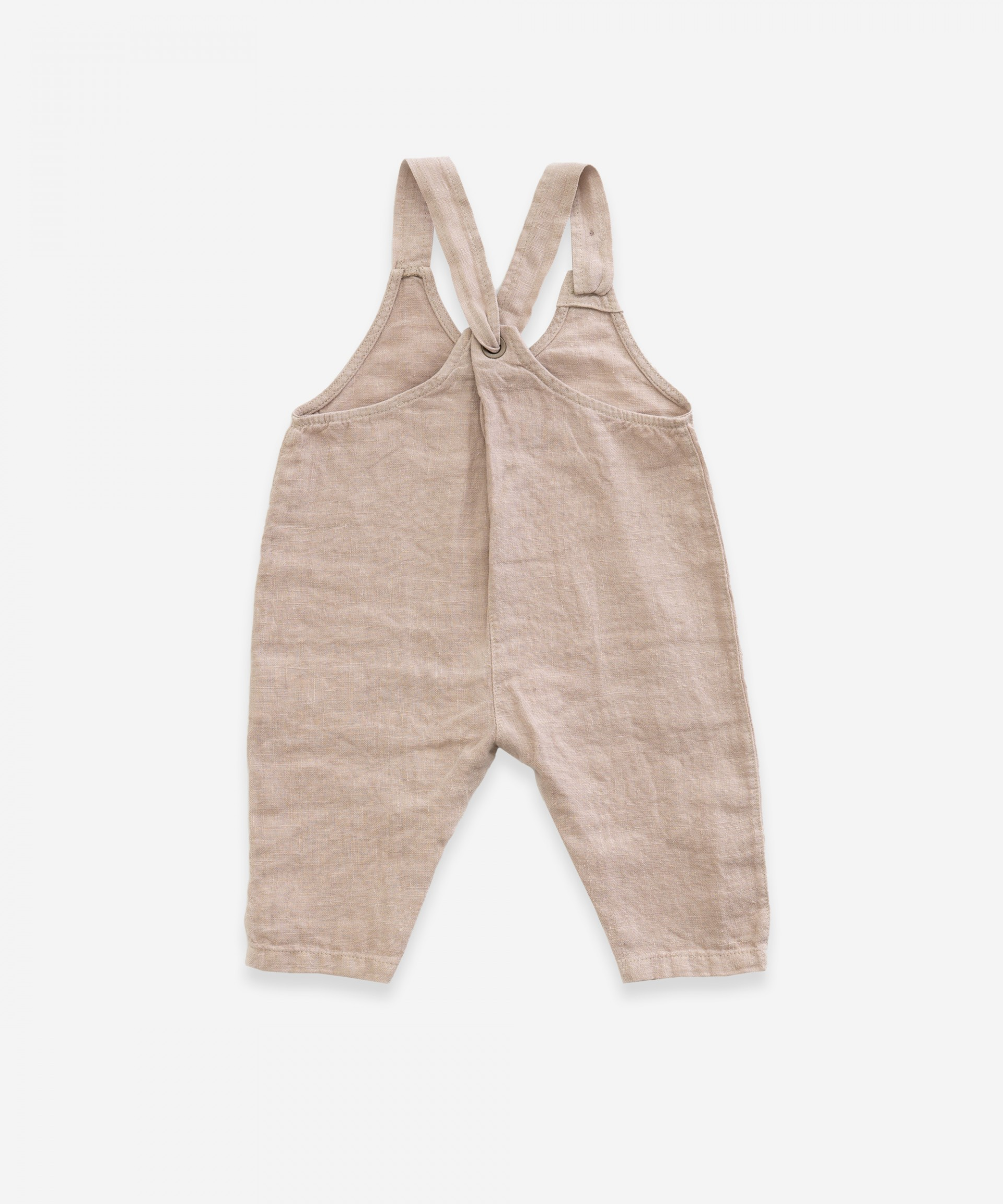 Jumpsuit in fabric | Weaving