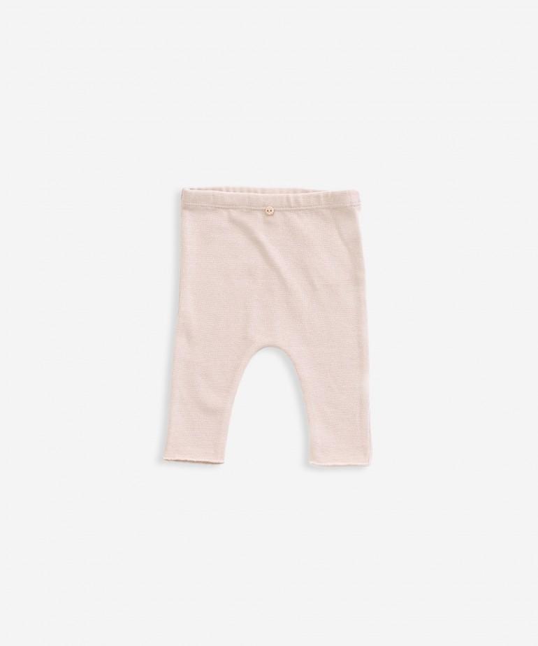 Pantaloni in cotone biologico