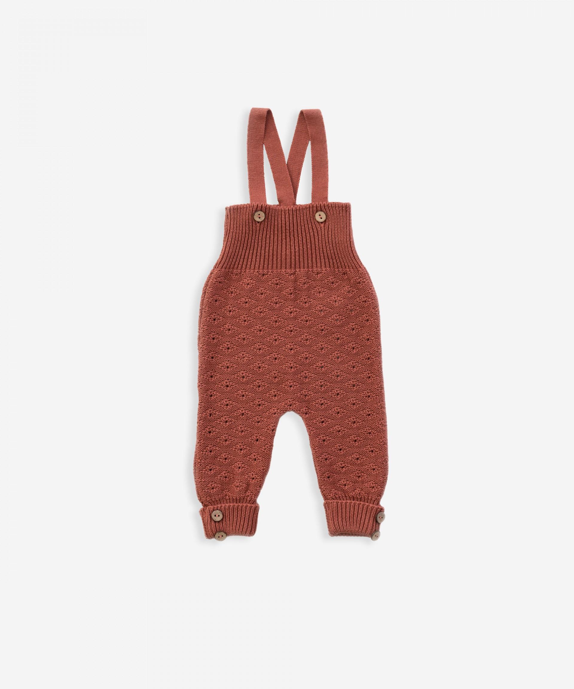 Tutona lavorata a maglia, in cotone biologico |Weaving