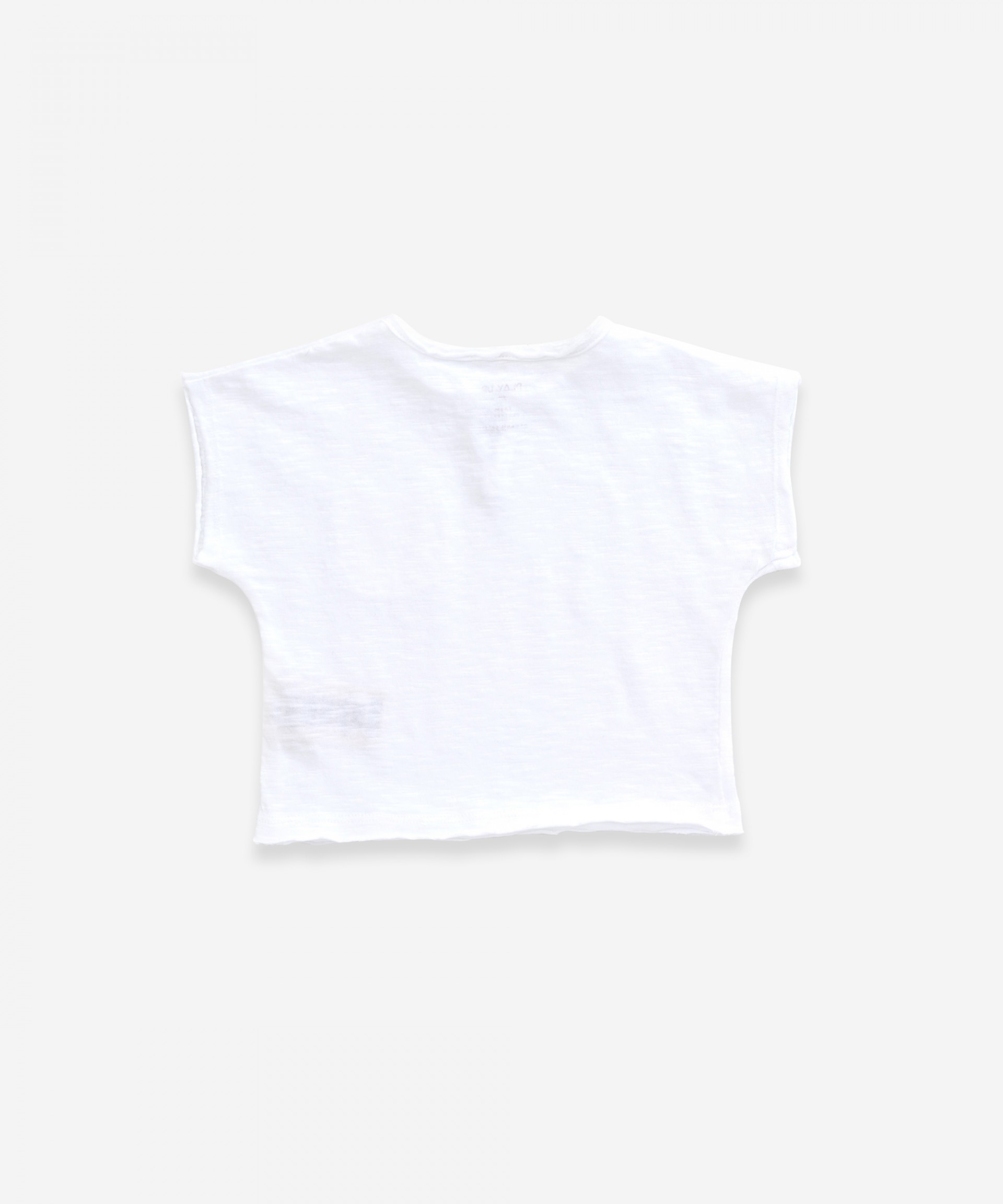 T-shirt in organic cotton with pocket  | Weaving