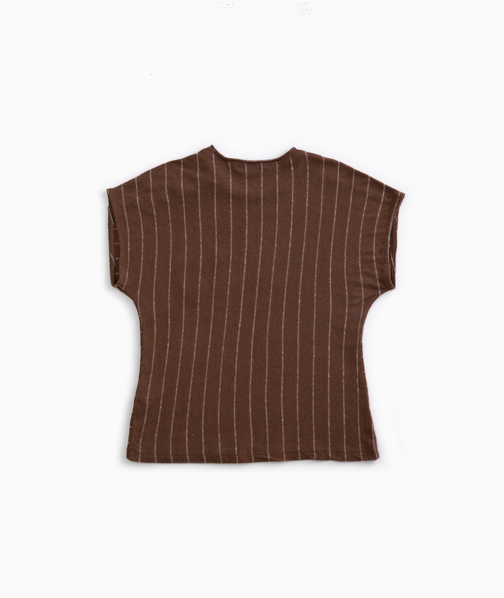 Camiseta de algodón-lino  | Weaving