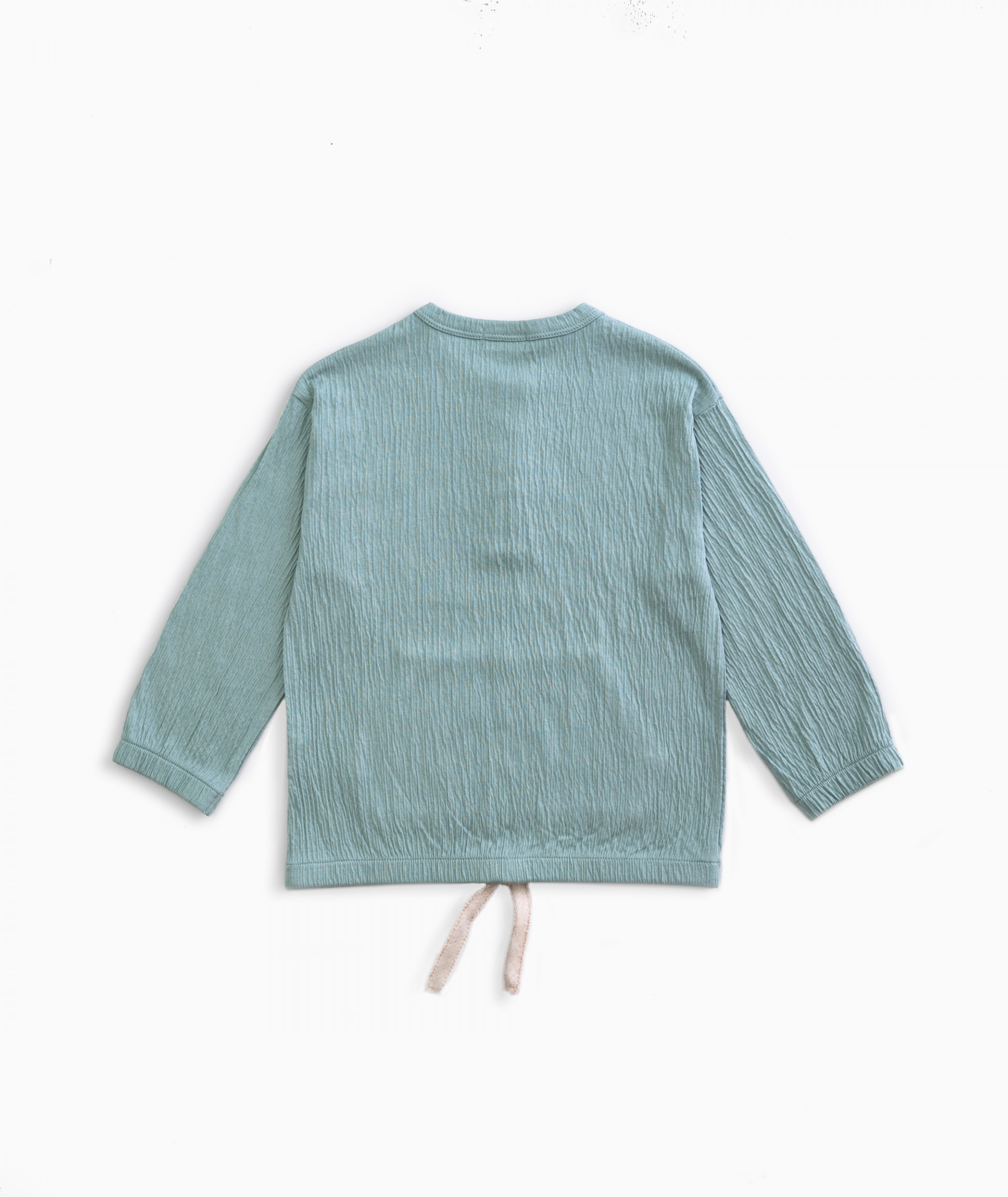 Sweater with pocket | Weaving