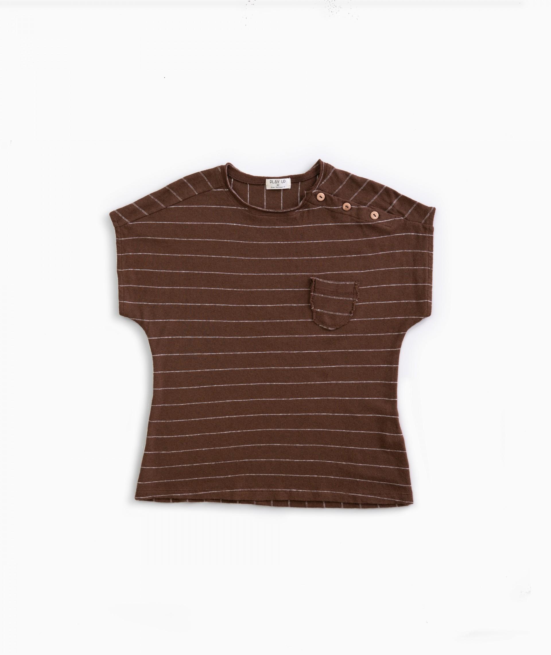T-shirt cotton-linen | Weaving