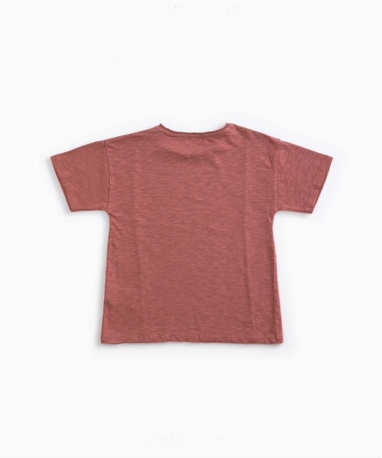 T-shirt with insert detail