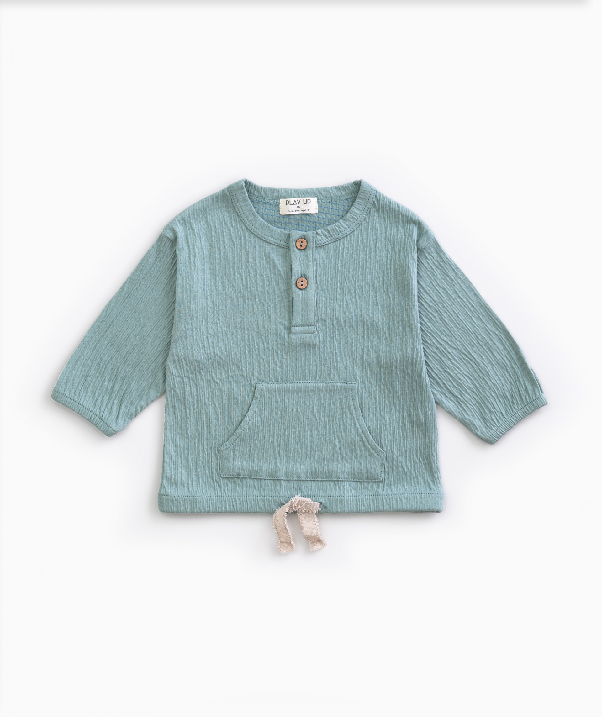 Shirt with pocket | Weaving