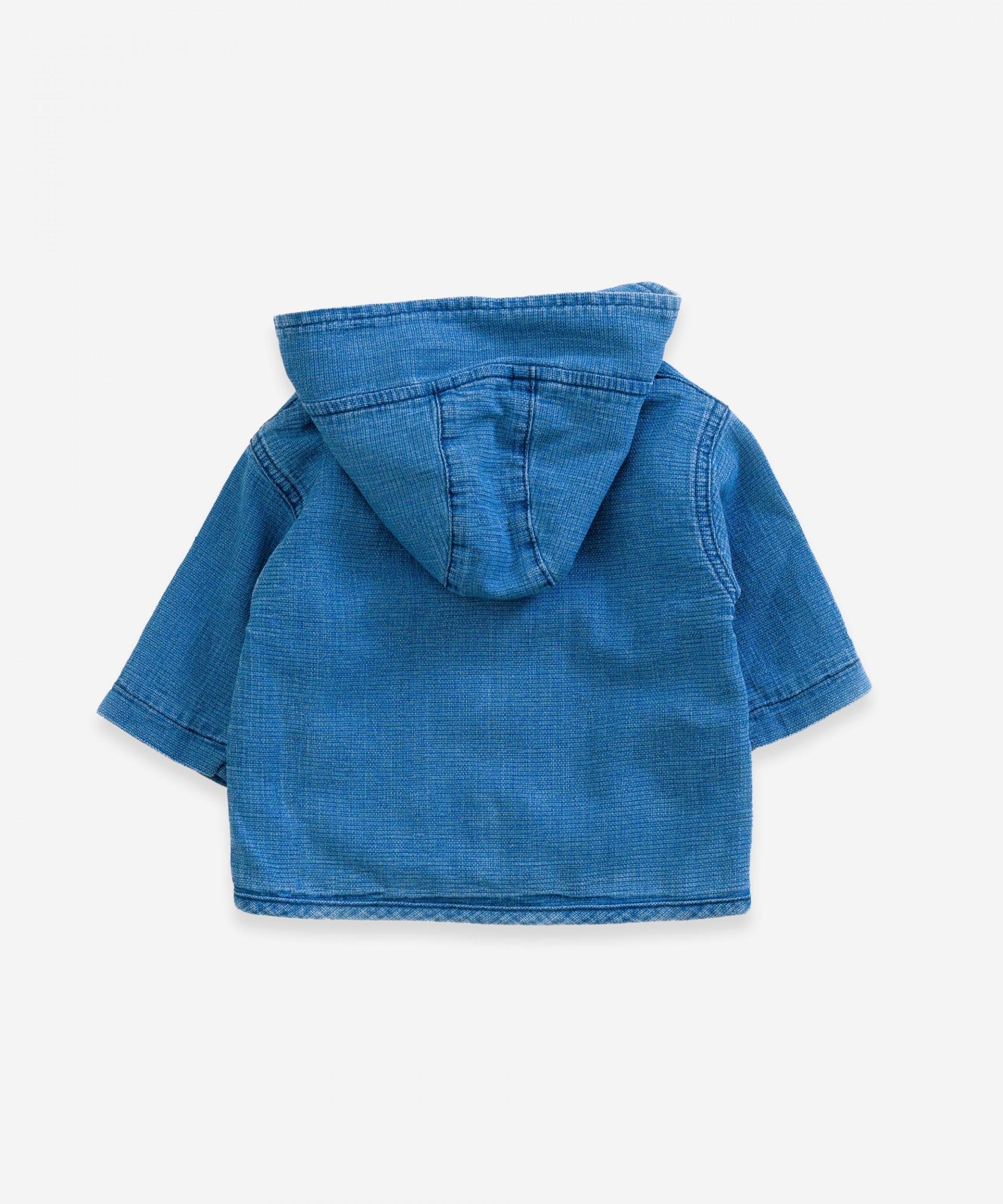 Cazadora vaquera con bolsillos | Weaving