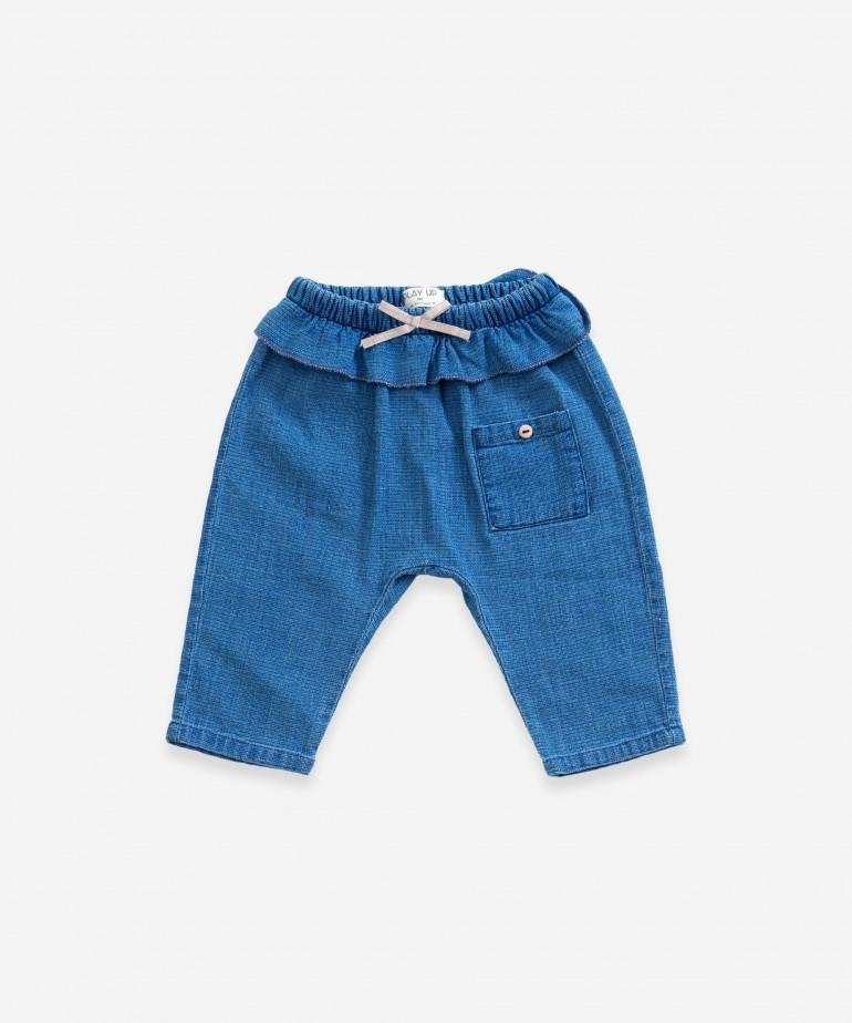 Pantaloni di jeans con tasca