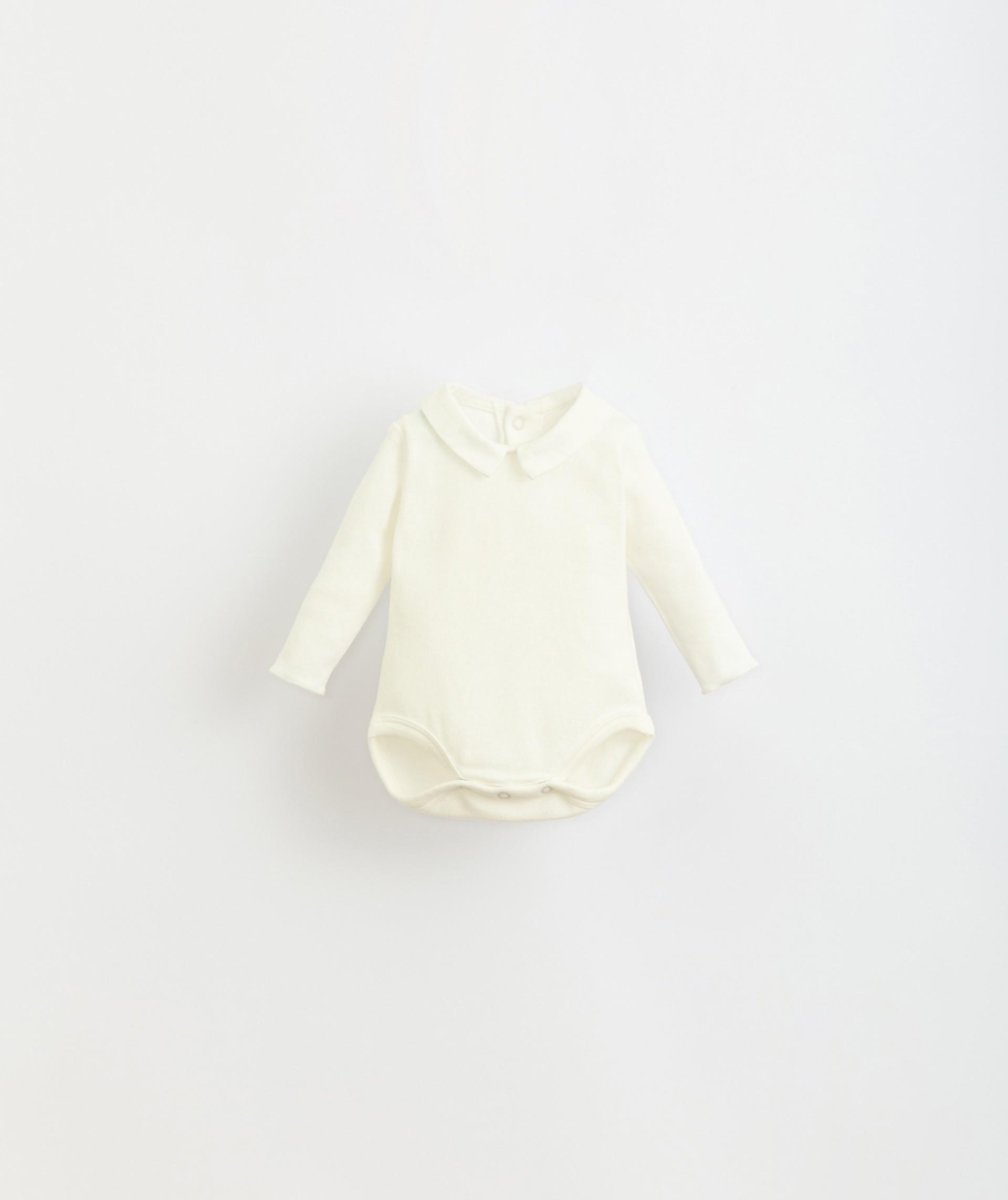 Body em algodão orgânico | Botany