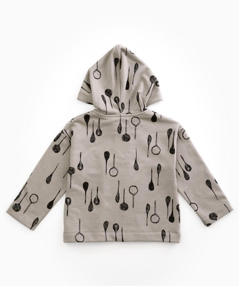 Spoon printed jacket