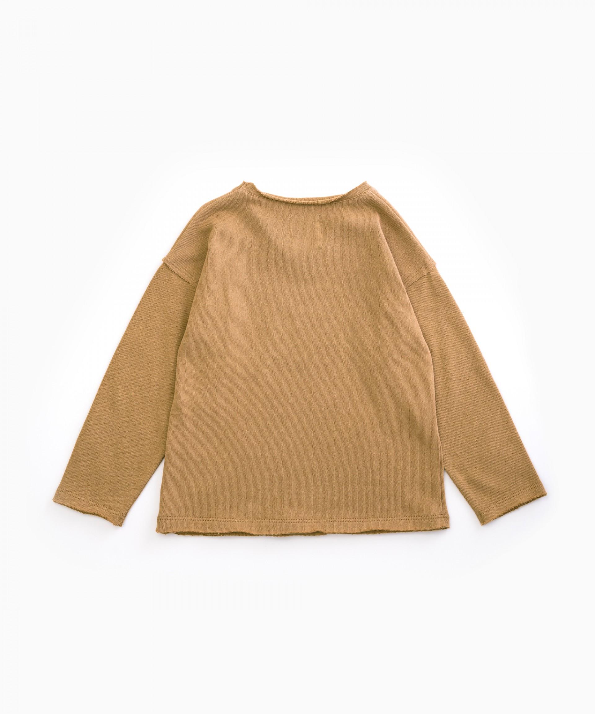 V-neck jersey | Woodwork