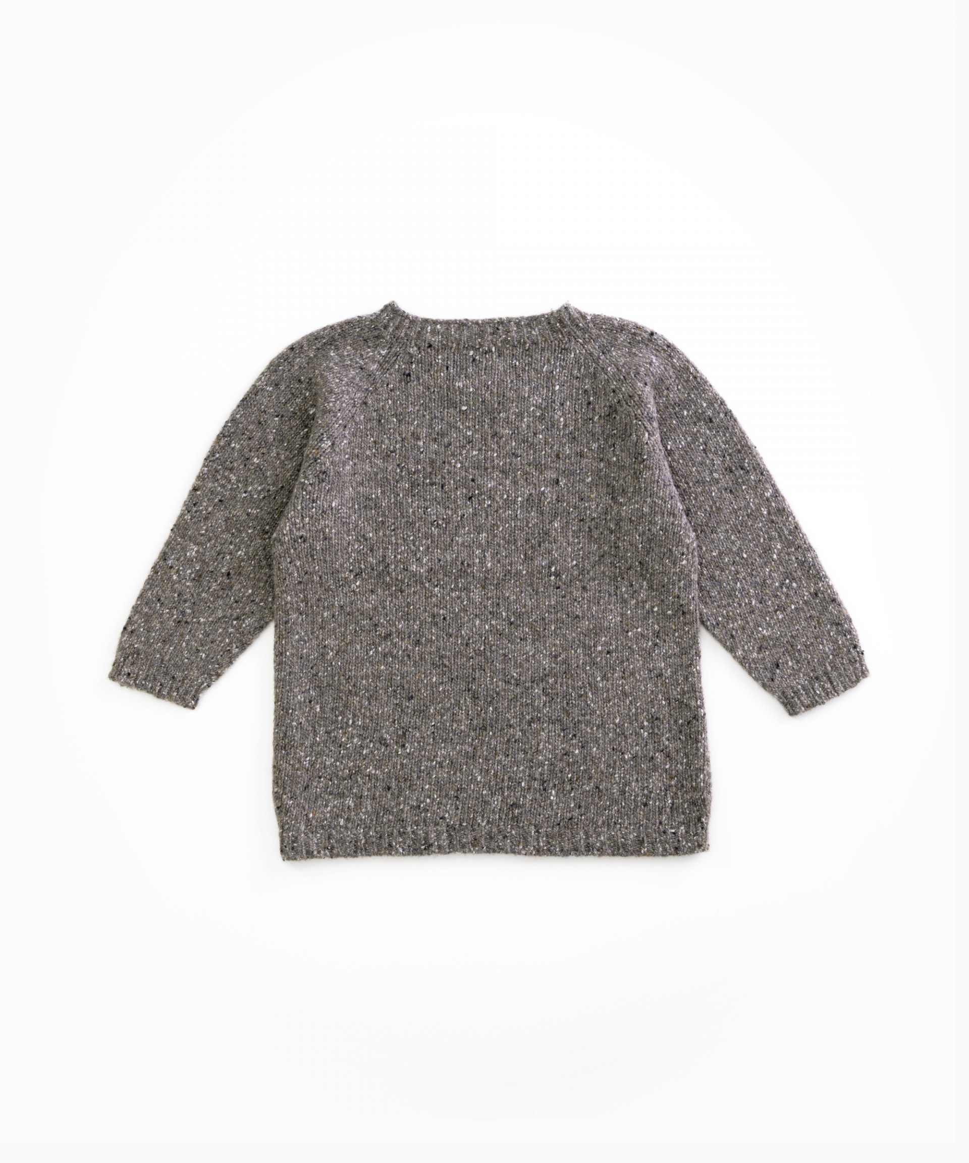 Knitted sweater with recycled fibres | Woodwork