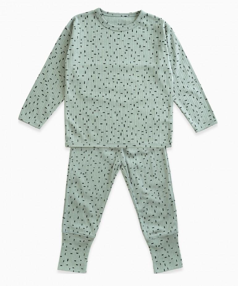 Pyjamas in organic cotton