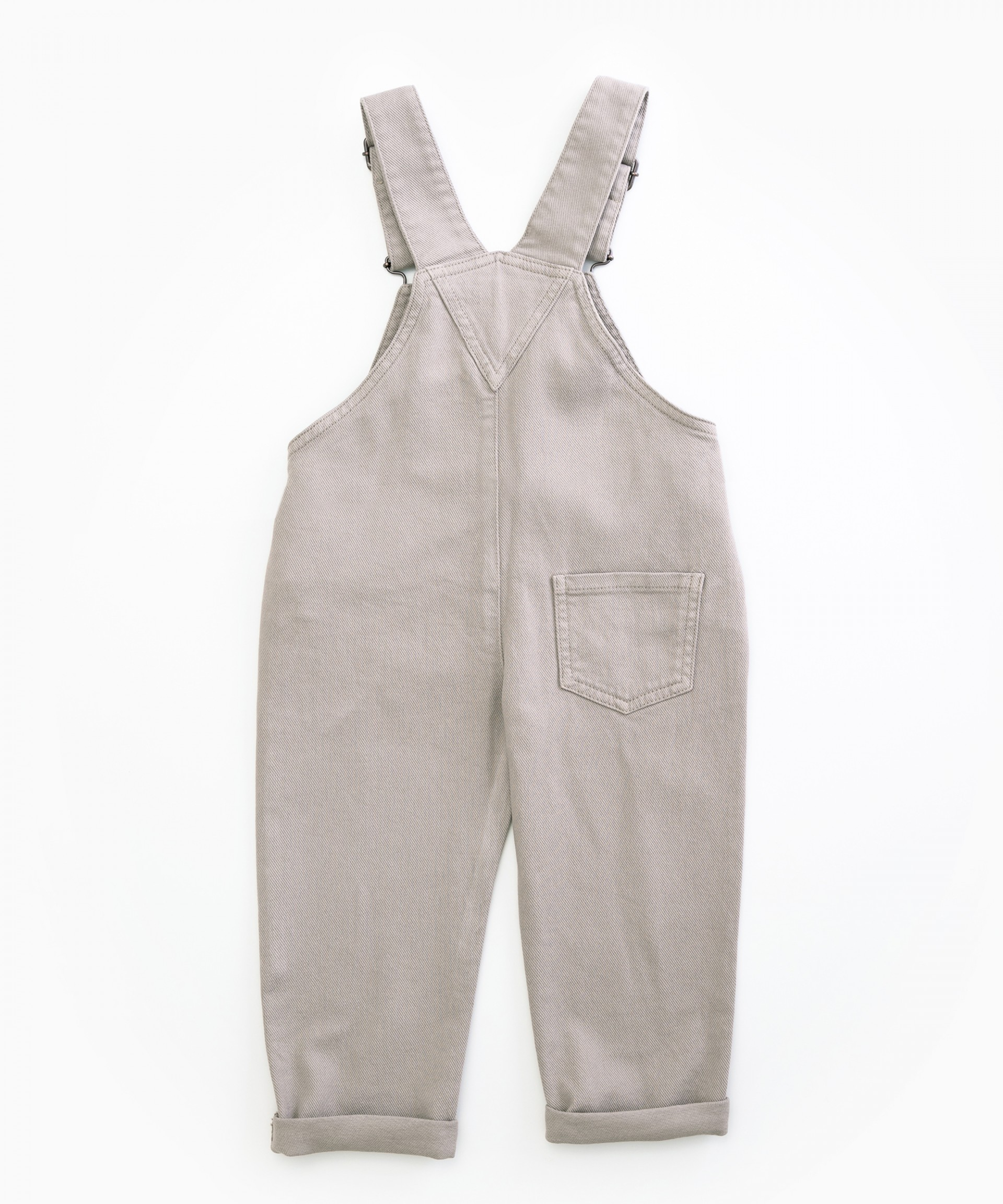 Dungarees with pockets on the chest | Woodwork