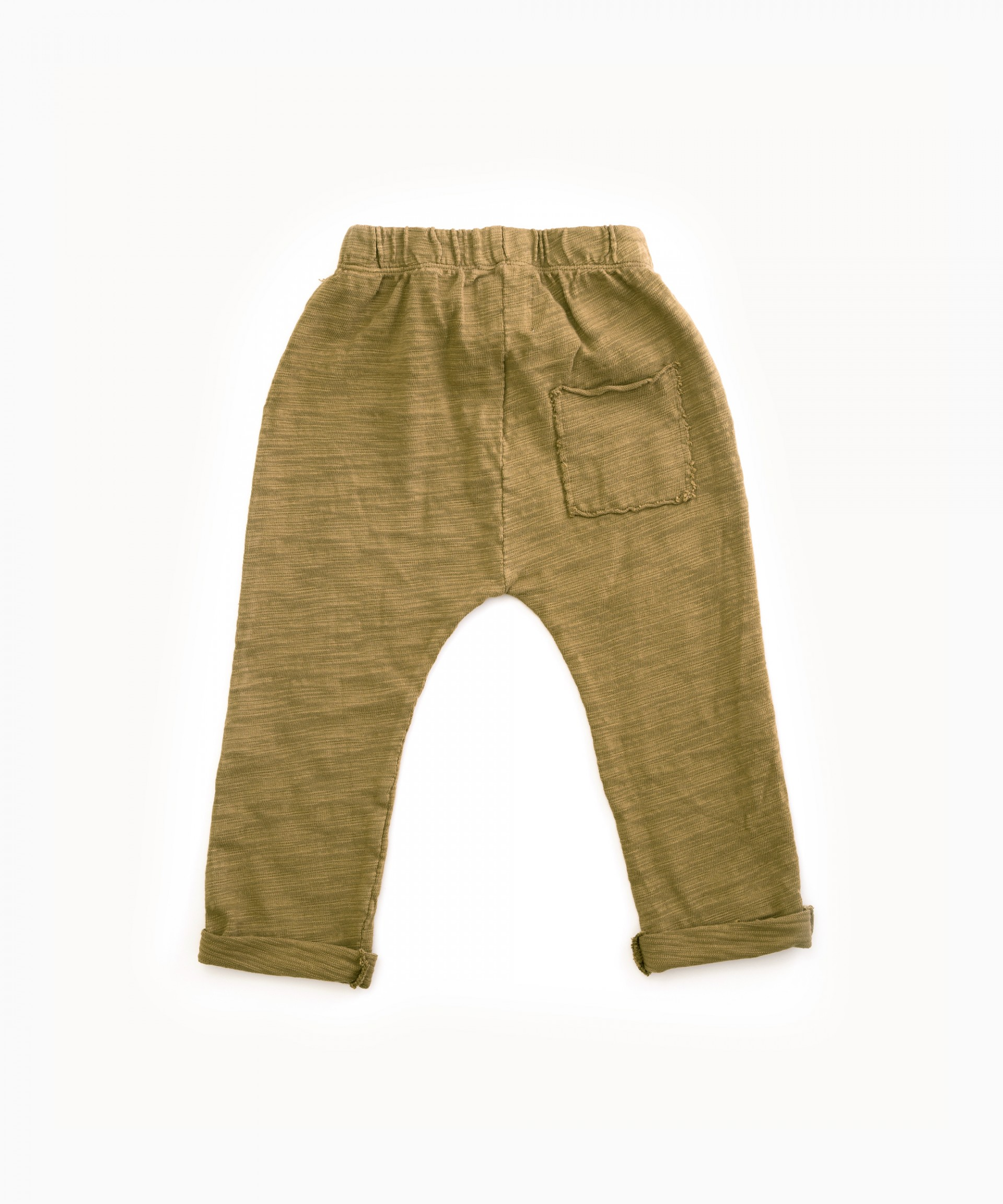 Trousers in cotton with pocket | Woodwork