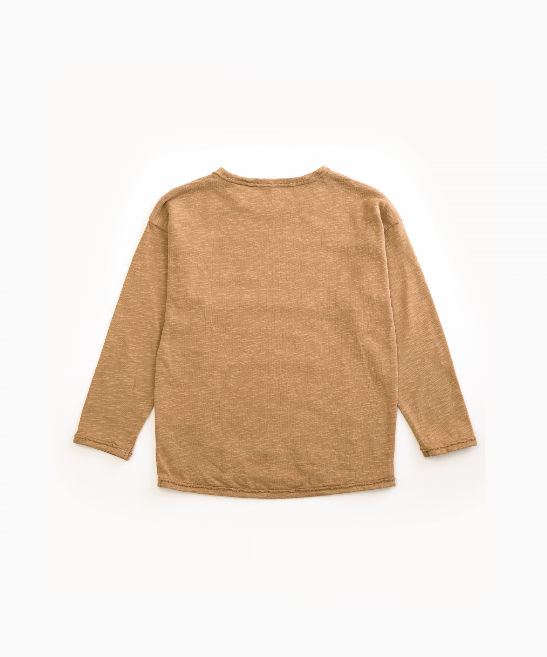 T-shirt in organic cotton with acorns | Woodwork