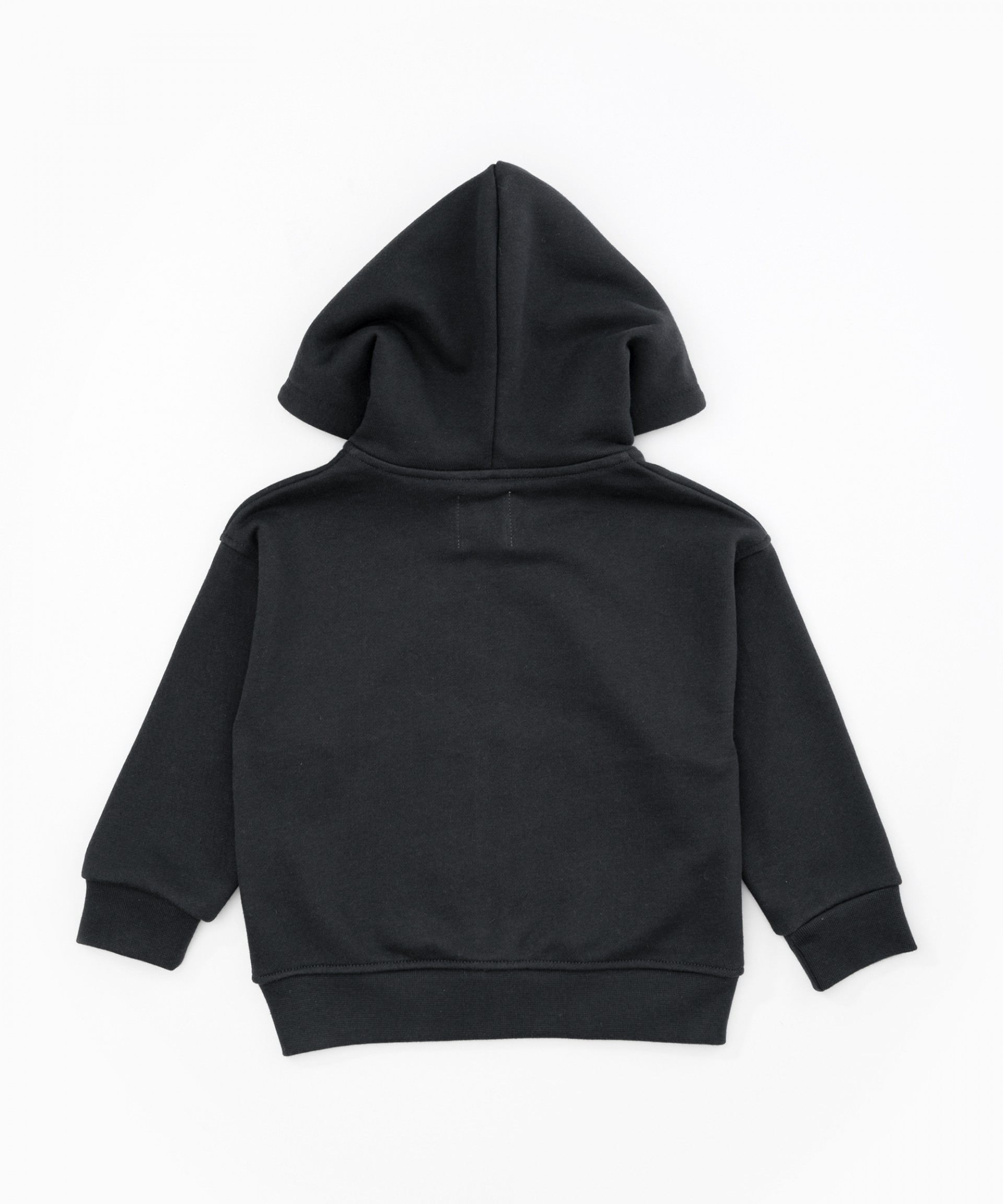 Jersey stitch hooded jacket | Woodwork