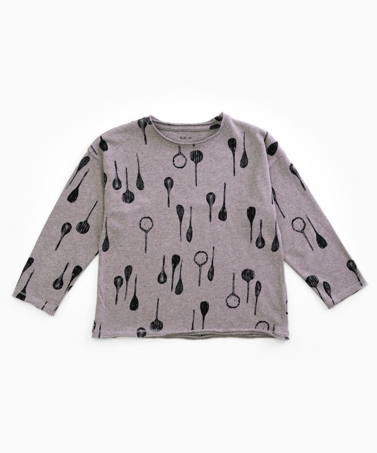T-shirt with spoons print