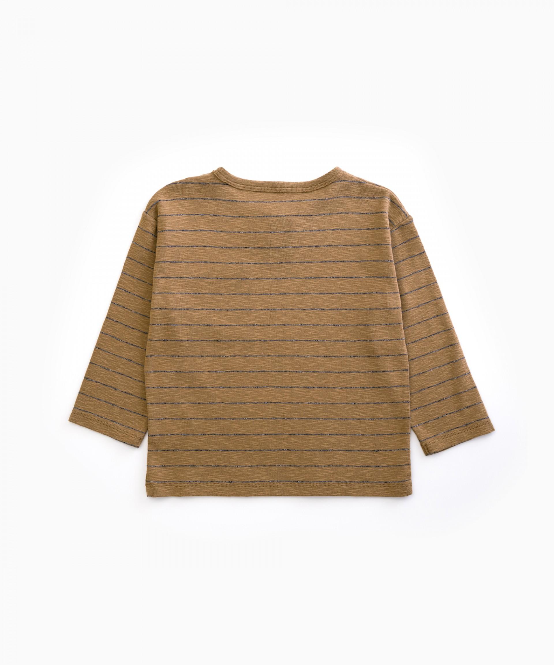 Striped T-shirt | Woodwork