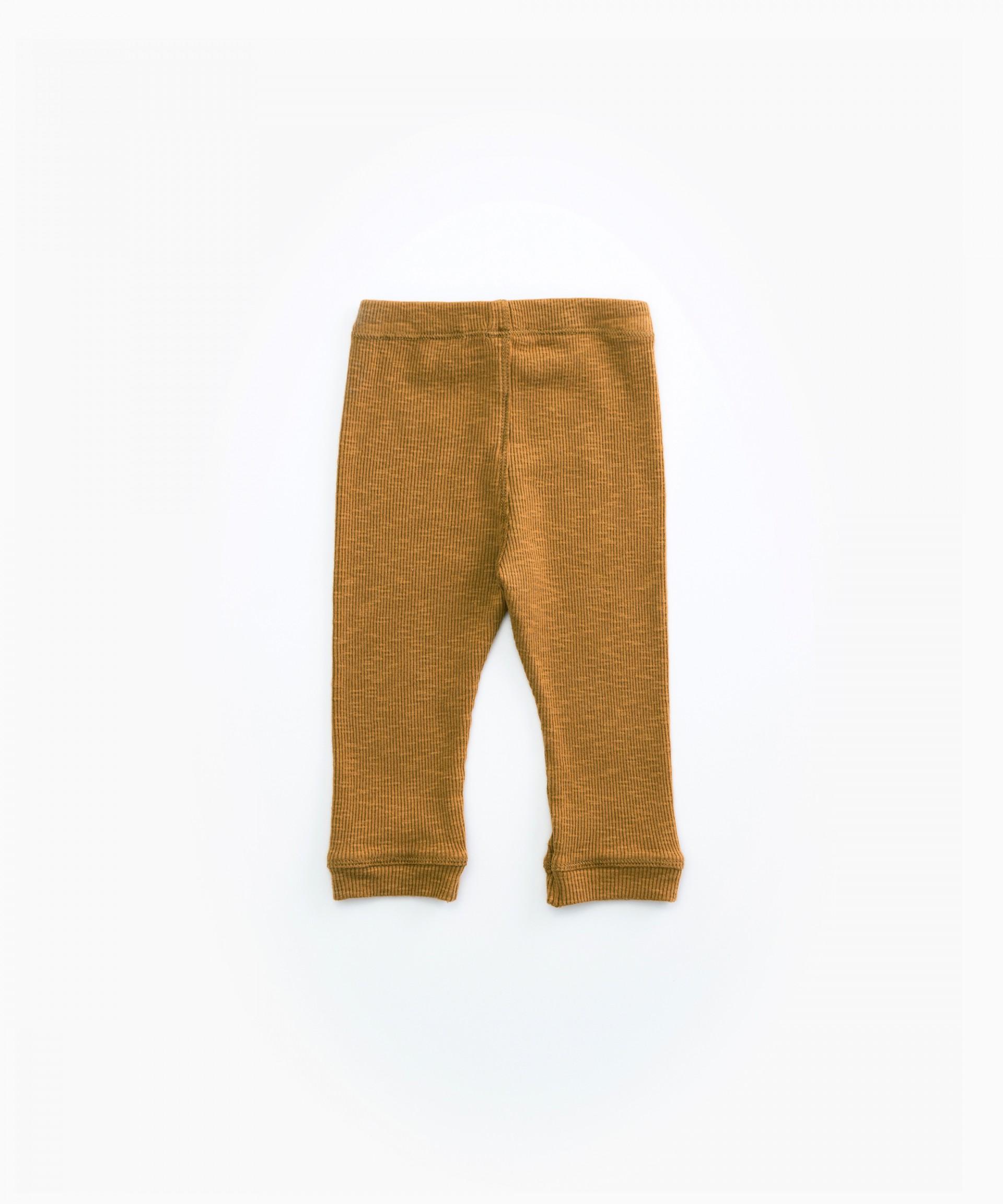 Leggings in organic cotton | Woodwork