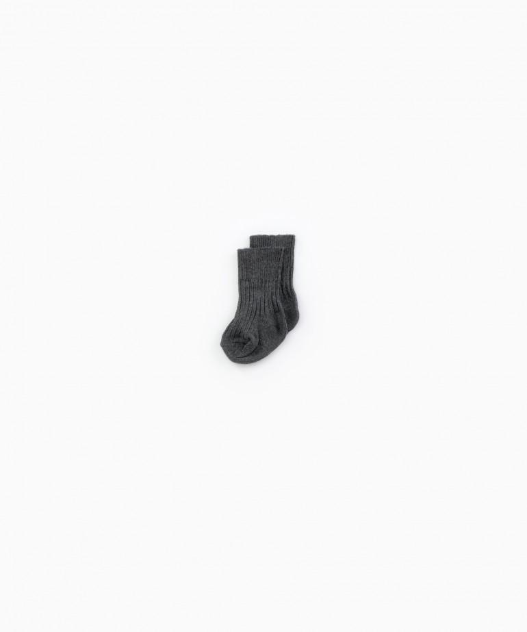 Socks in organic cotton