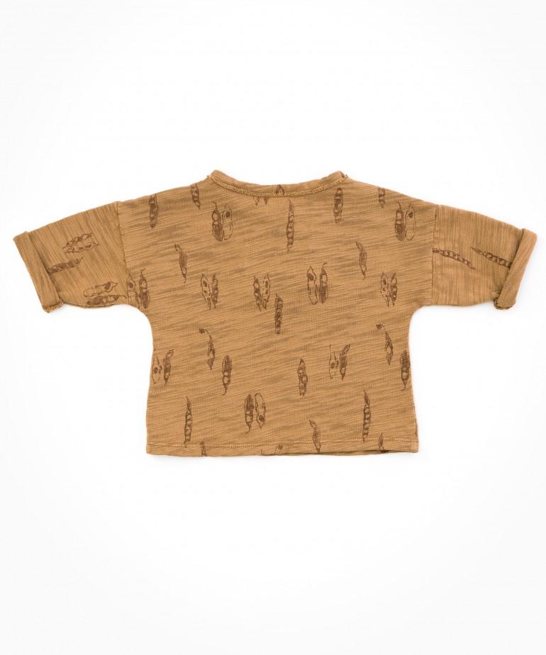 Camisa com estampado de vagens