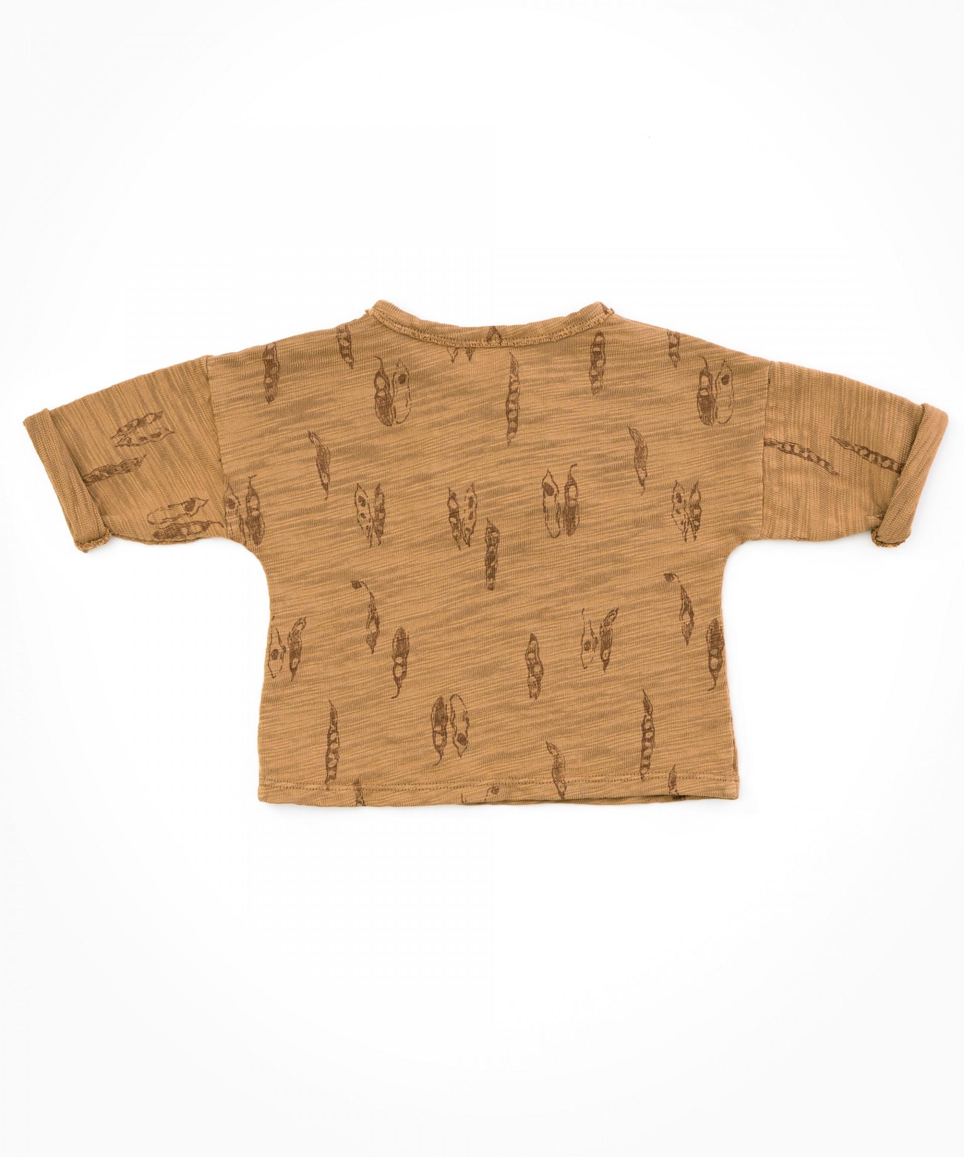 Camisa con detalle de aplique| Woodwork