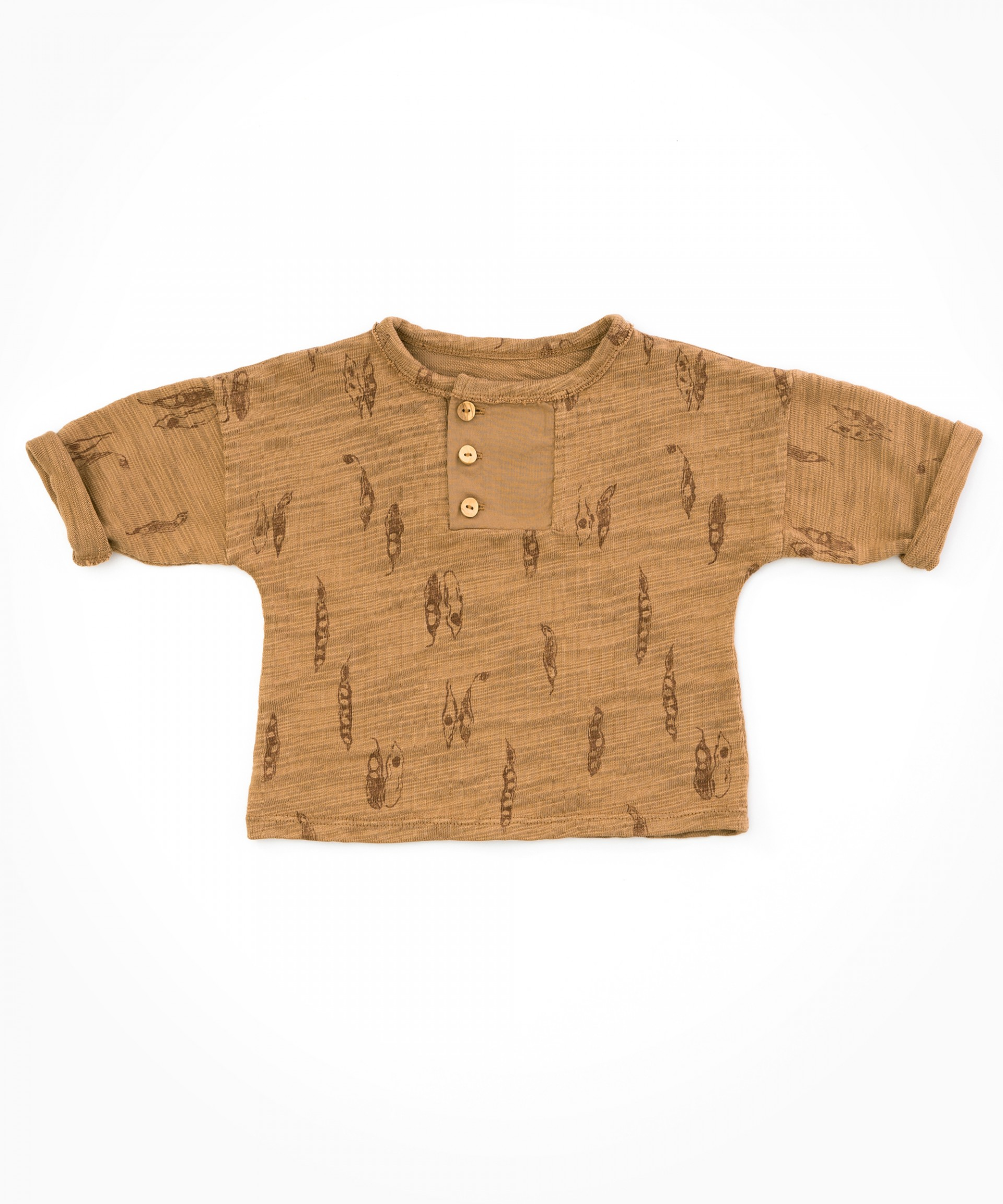 Shirt with detail | Woodwork