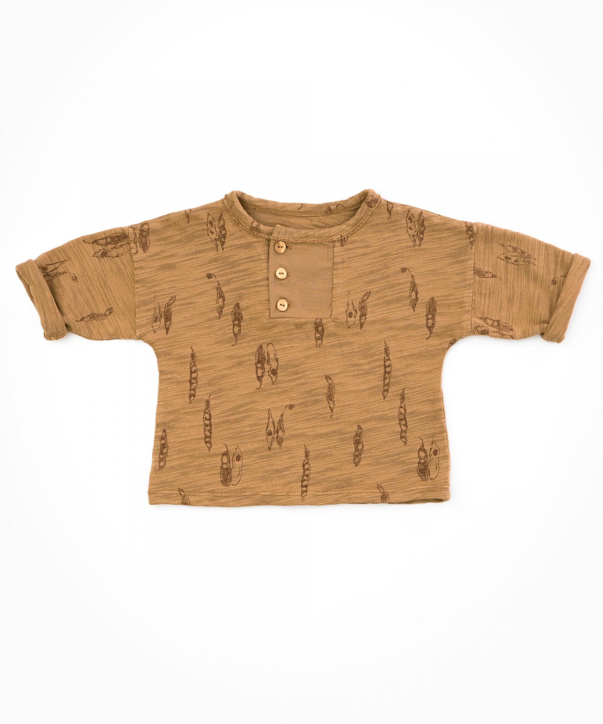 Camicia con dettaglio a incastro | Woodwork